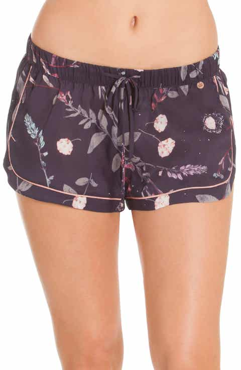 Midnight Bakery Print Lounge Shorts