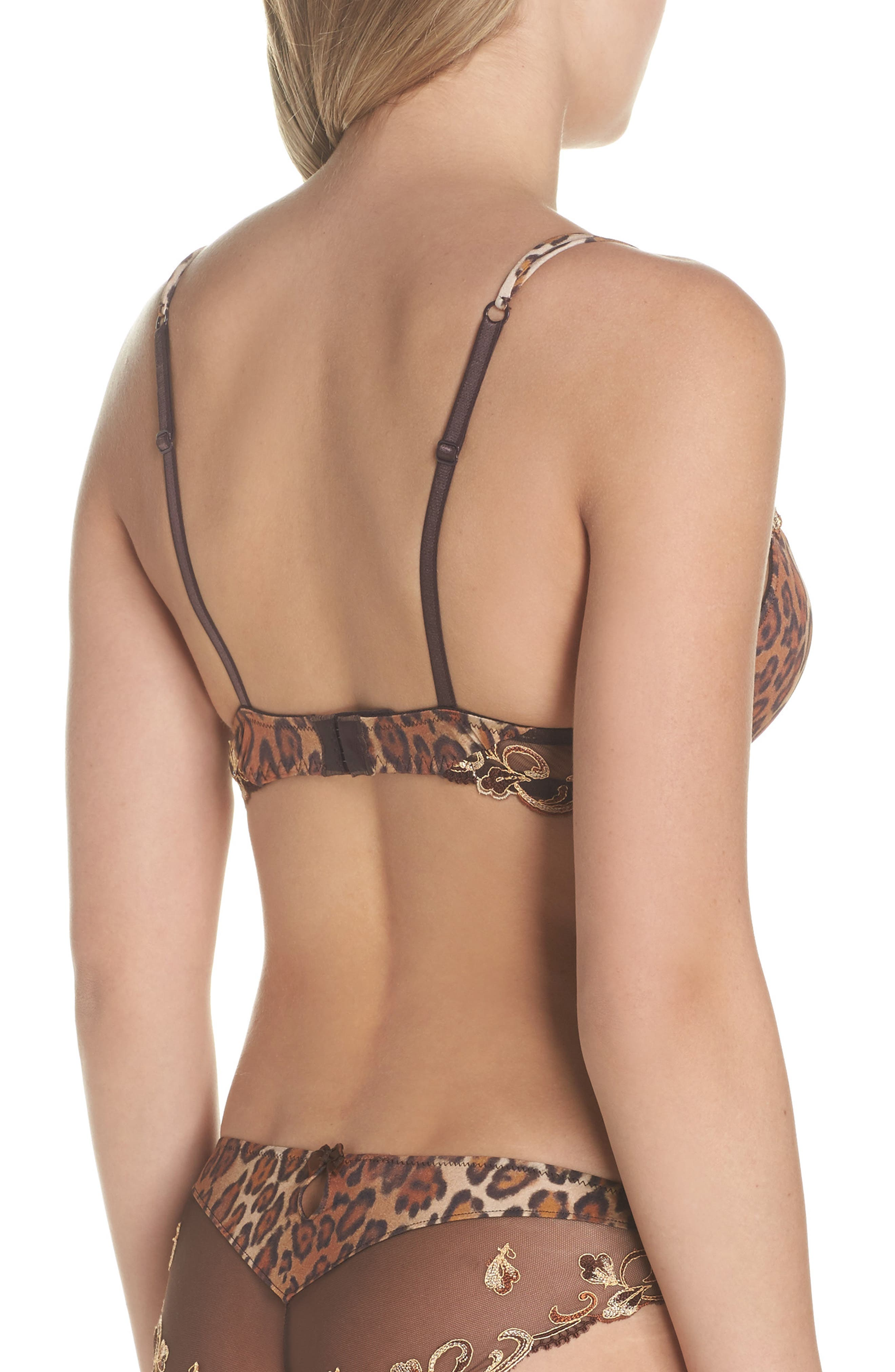 Alternate Image 2  - Epure by Lise Charmel Distinction Fauve Padded Underwire Bra