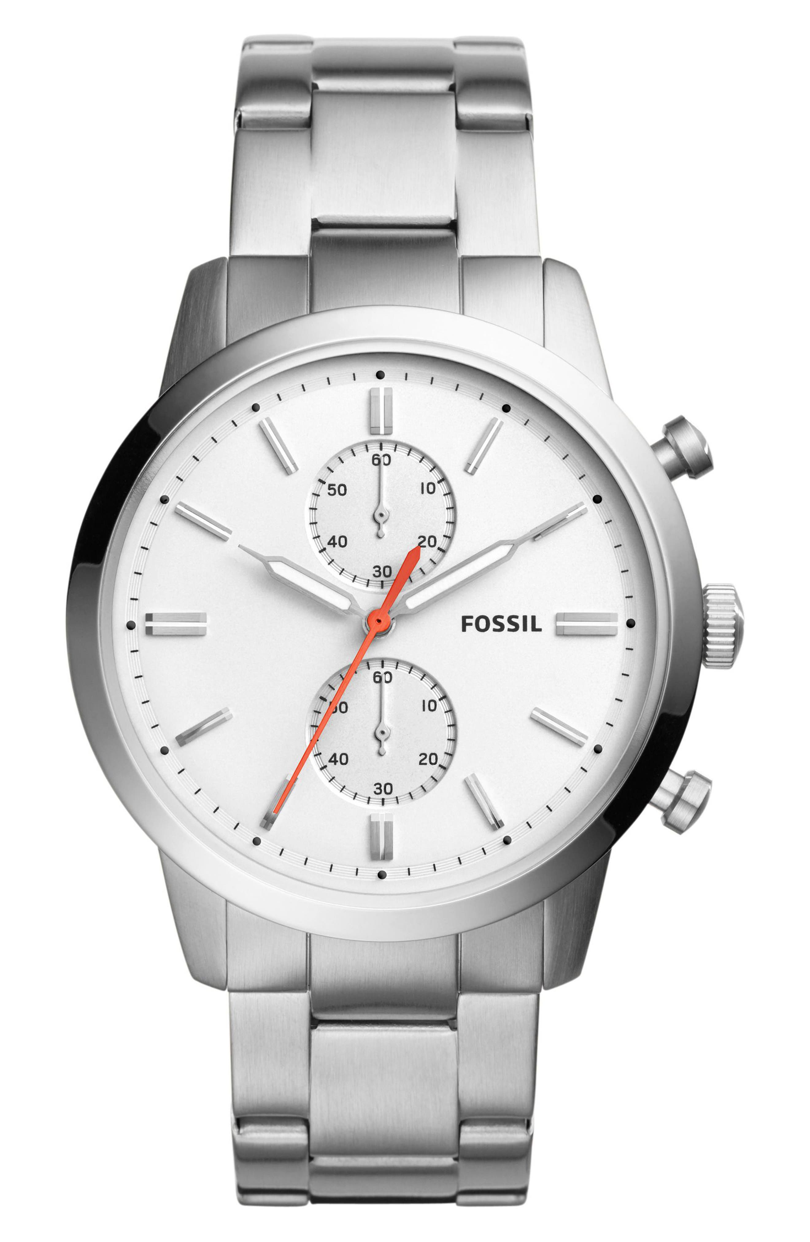 Fossil Townsman Chronograph Bracelet Watch, 44mm