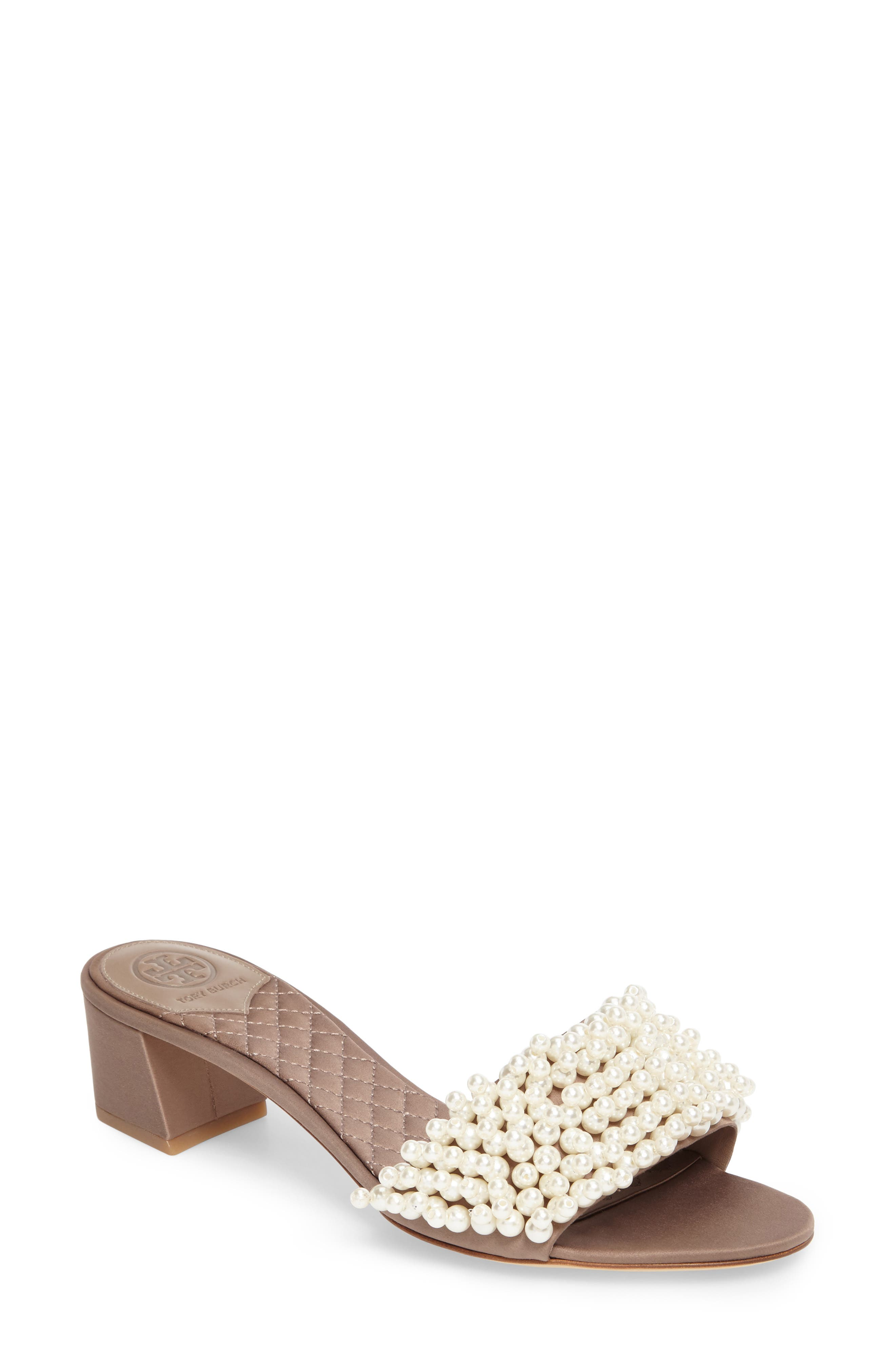 Tatiana Slide Sandal,                             Main thumbnail 1, color,                             Dust Storm
