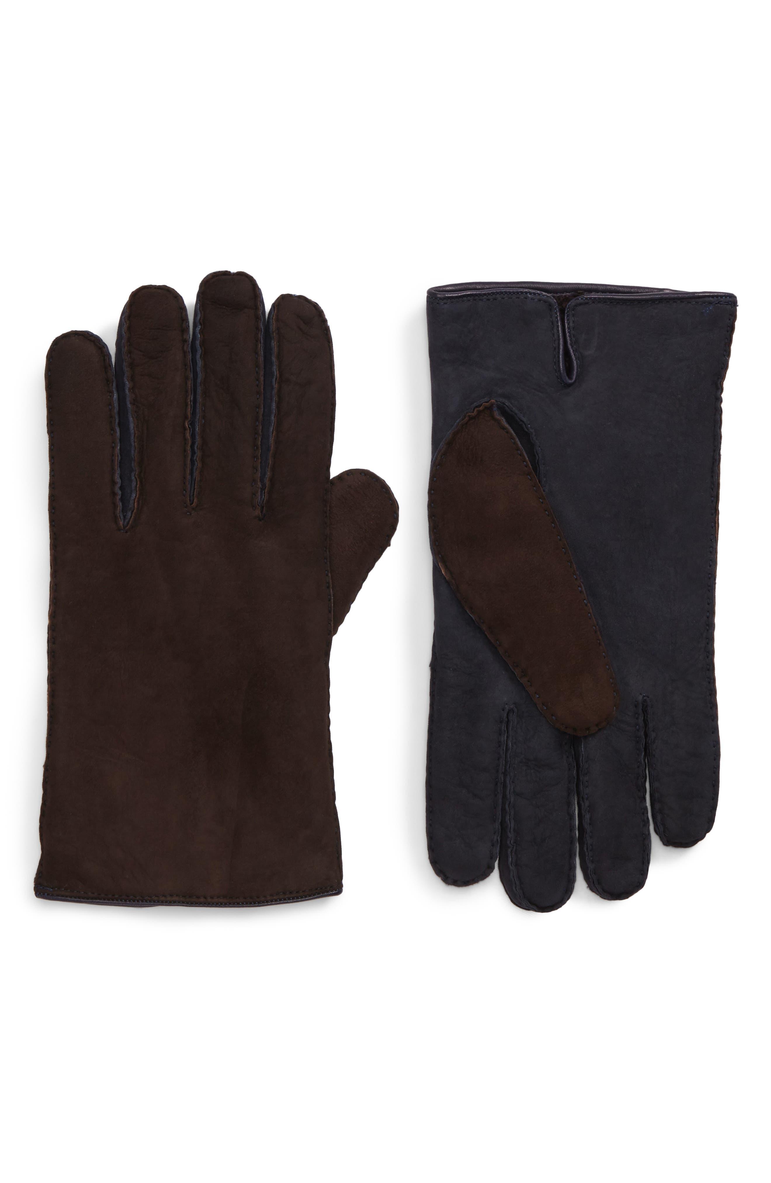 Main Image - Hickey Freeman Leather Gloves