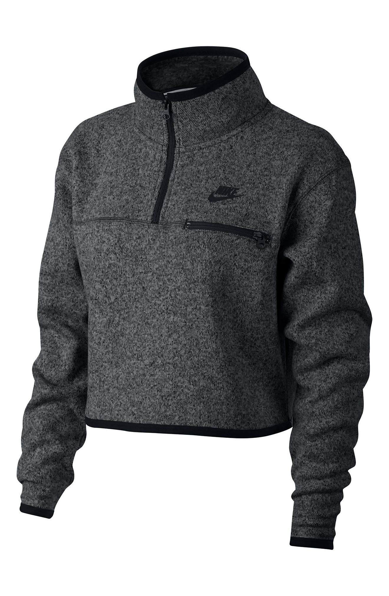 Nike Sportswear Women's Half Zip Knit Top