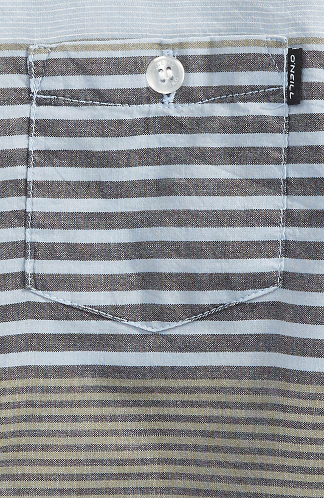 Alternate Image 2  - O'Neill Altair Woven Shirt (Little Boys)
