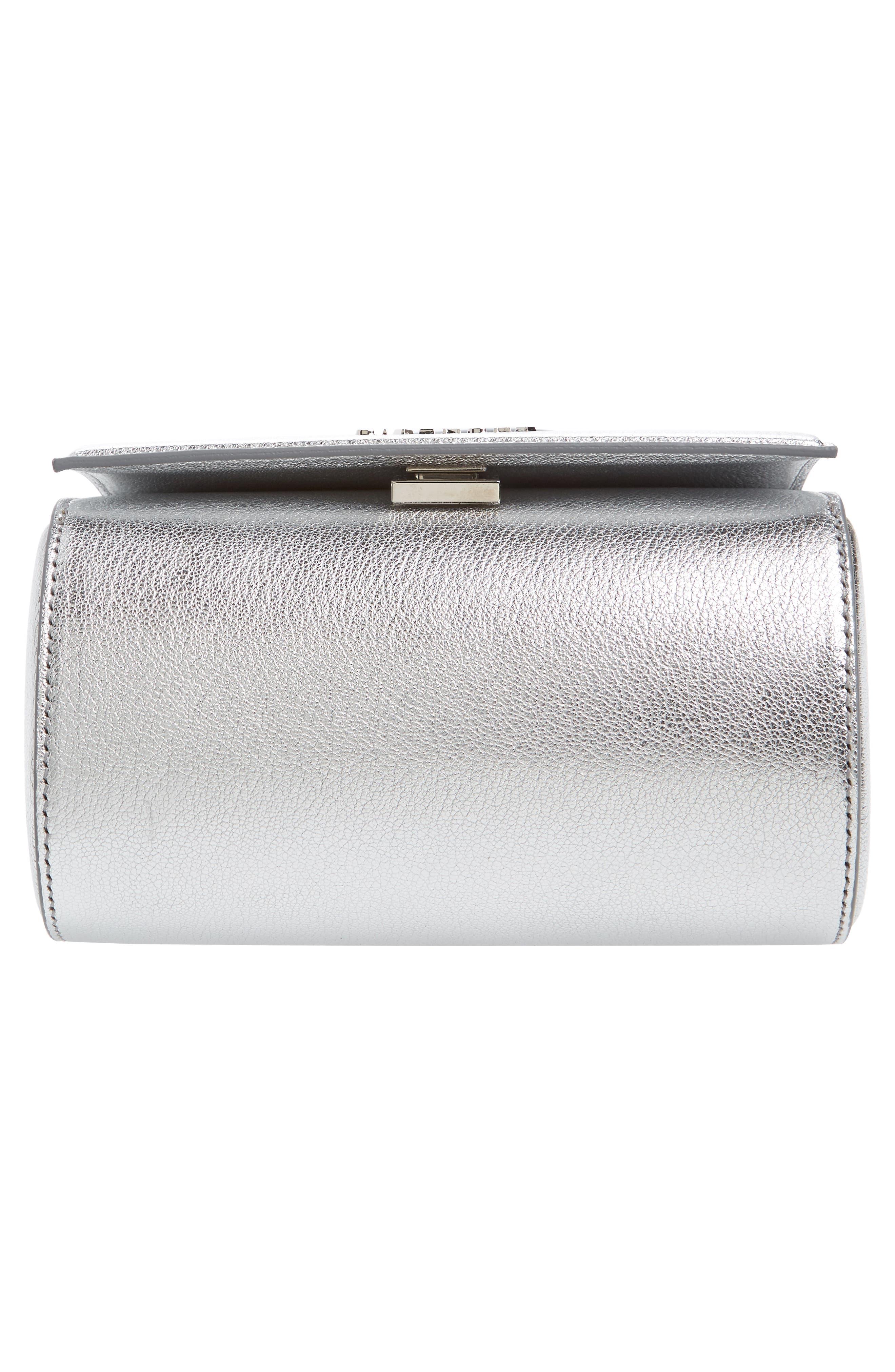 Alternate Image 5  - Givenchy Pandora Metallic Leather Satchel