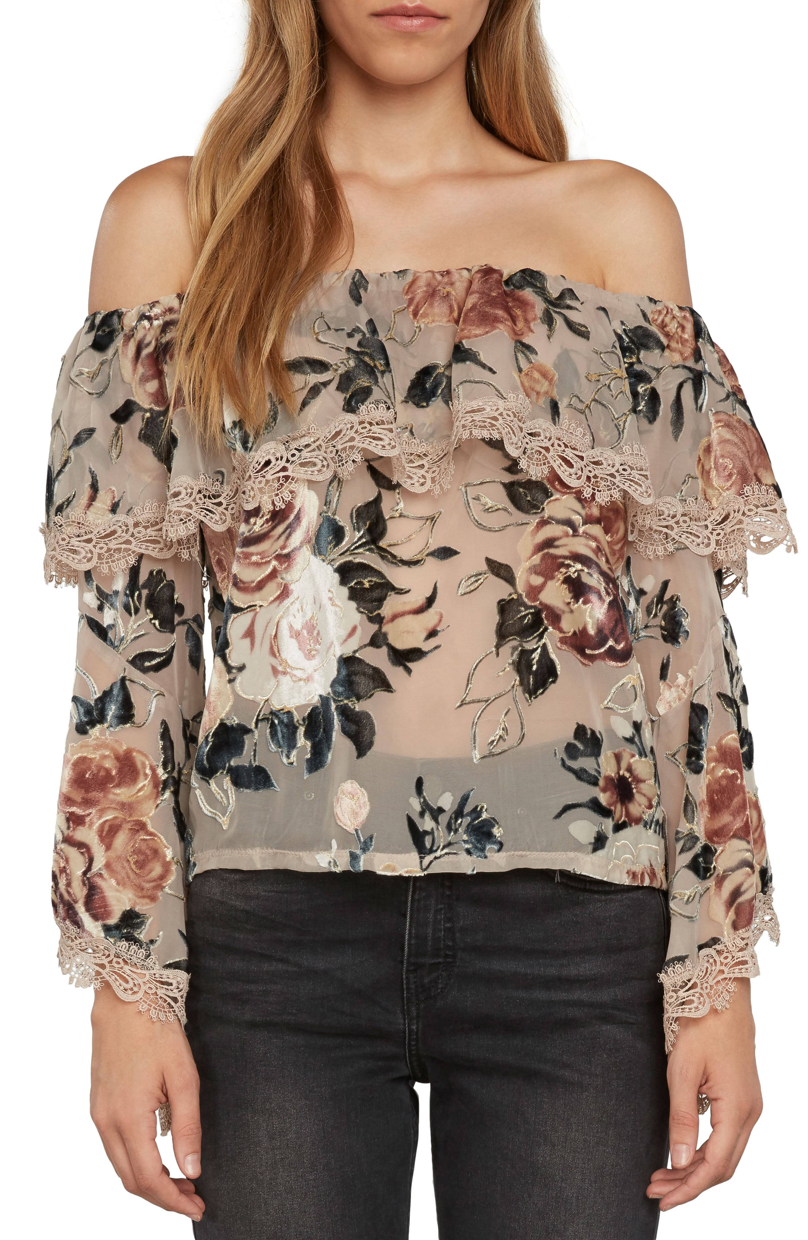 Main Image - Willow & Clay Off the Shoulder Top