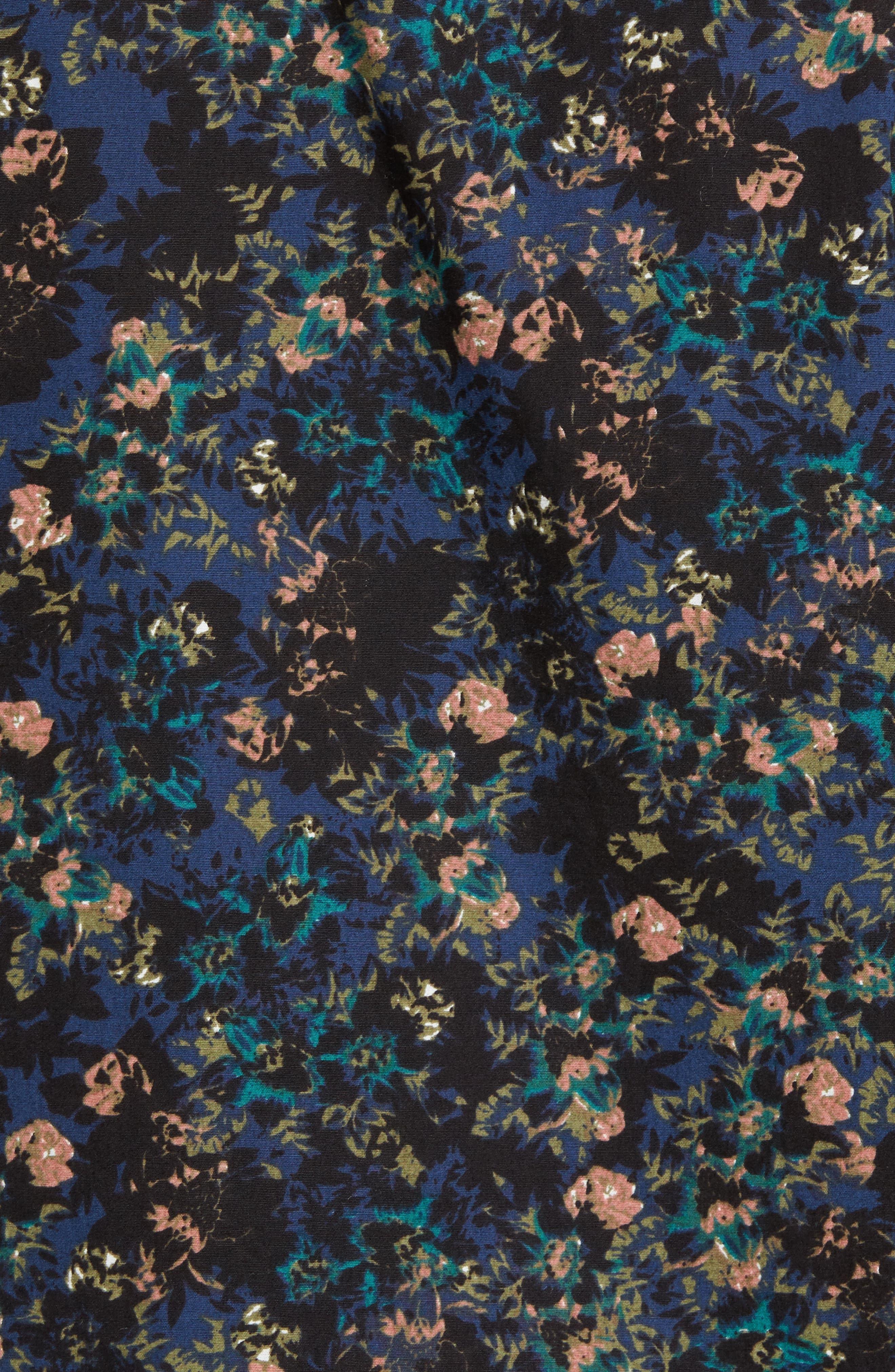 Control Woven Shirt,                             Alternate thumbnail 5, color,                             Blue