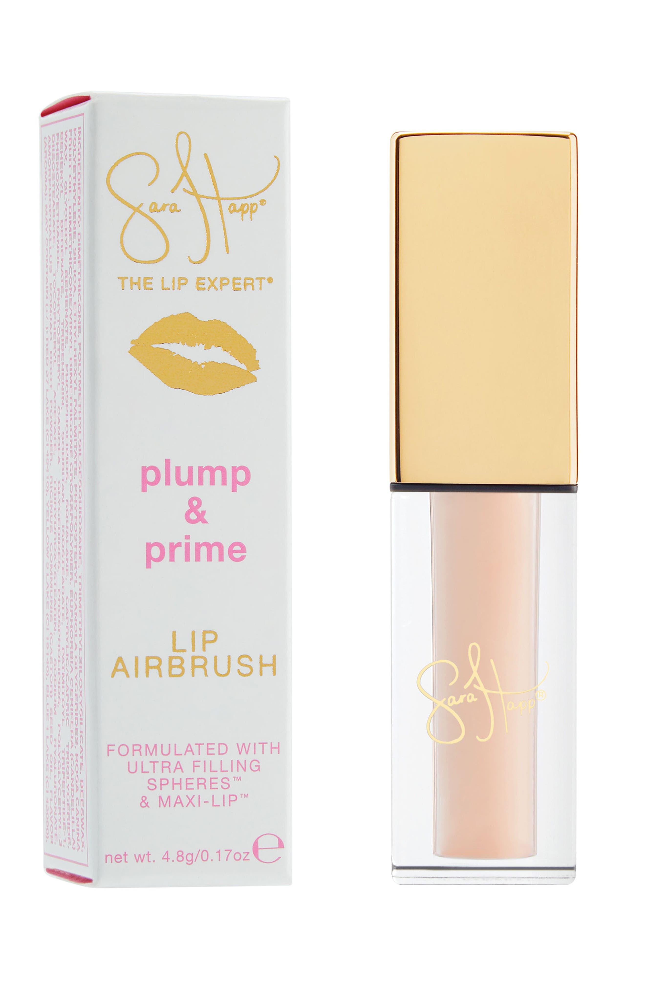 Plump & Prime Lip Airbrush,                             Main thumbnail 1, color,                             No Color