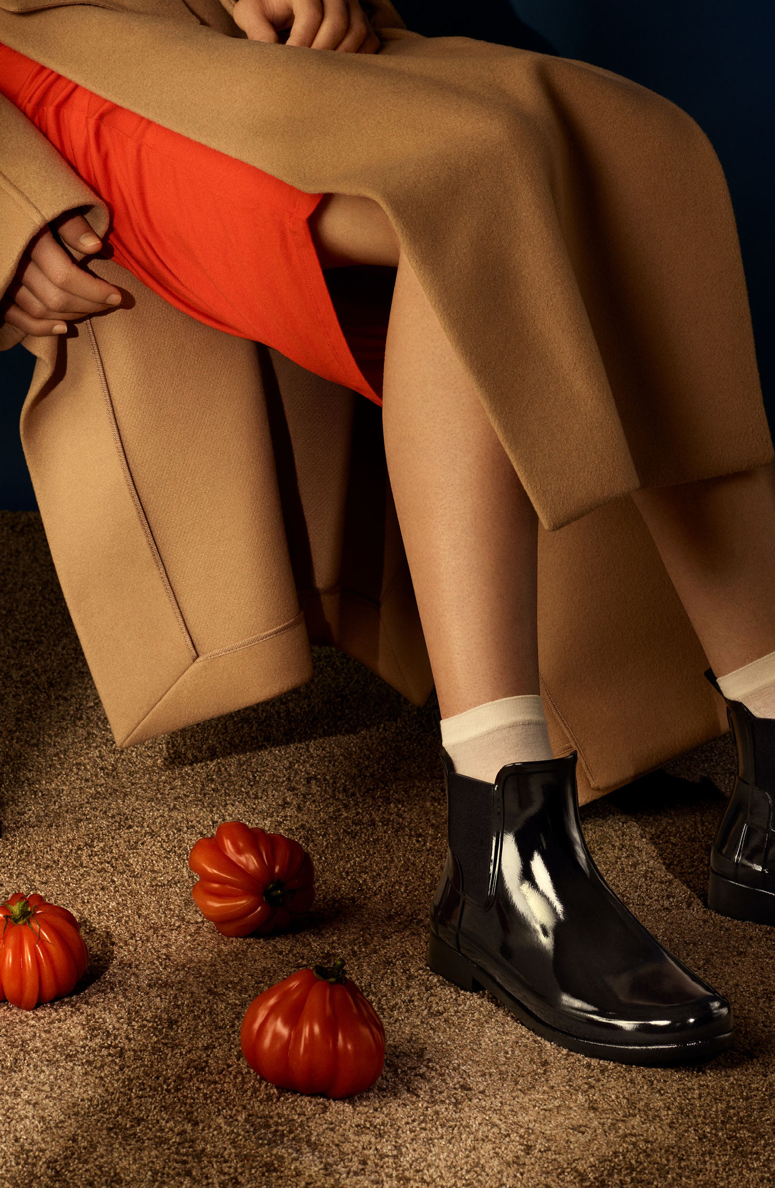 Alternate Image 5  - Hunter 'Original Refined' Chelsea Rain Boot (Women)
