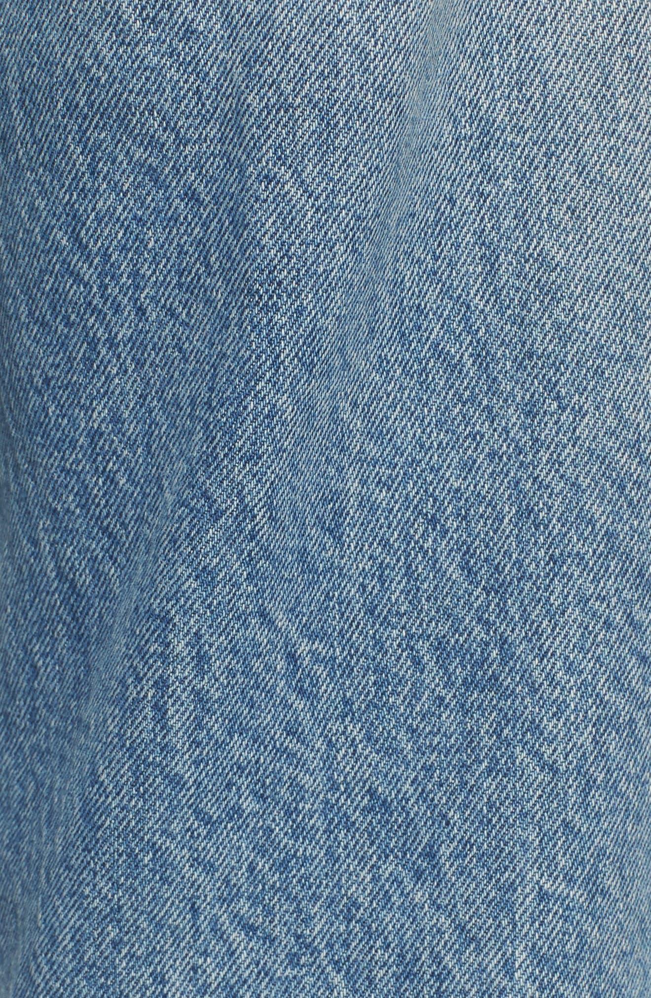 Alternate Image 5  - Current/Elliott The His Boyfriend Jeans (Pinyon Destroy Wash)