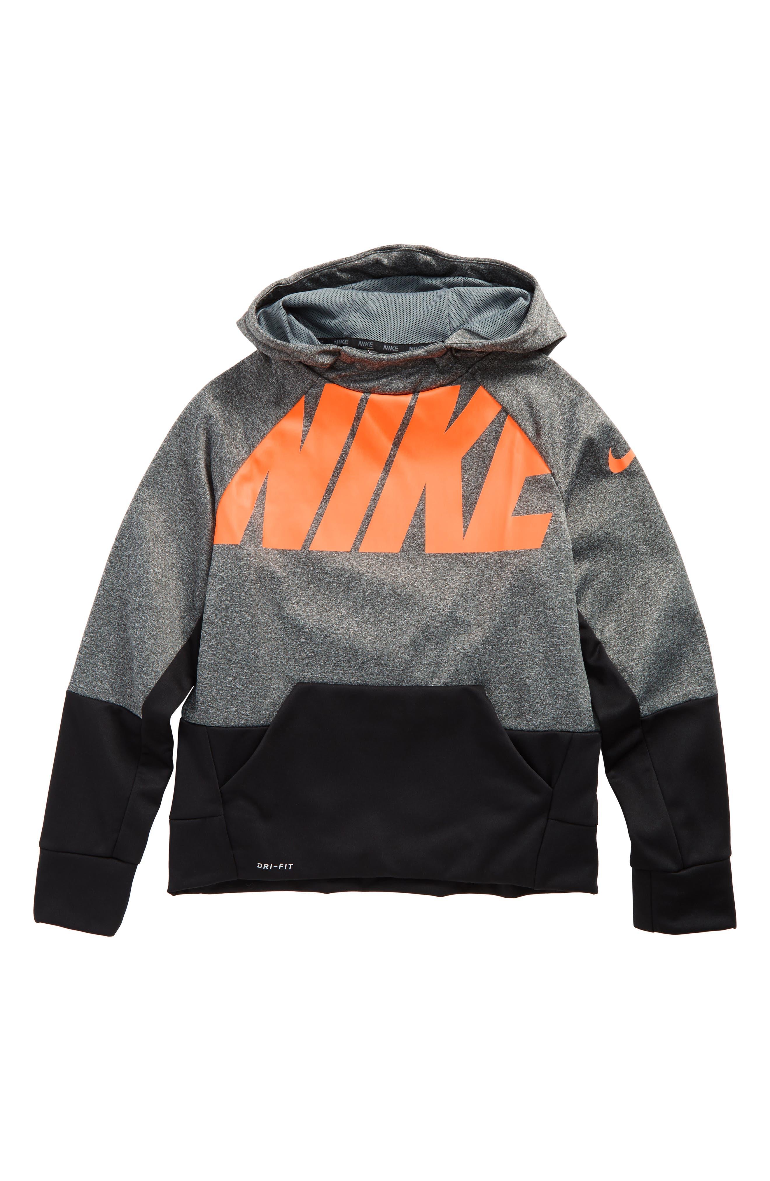 Main Image - Nike Elite Therma Hoodie (Little Boys & Big Boys)