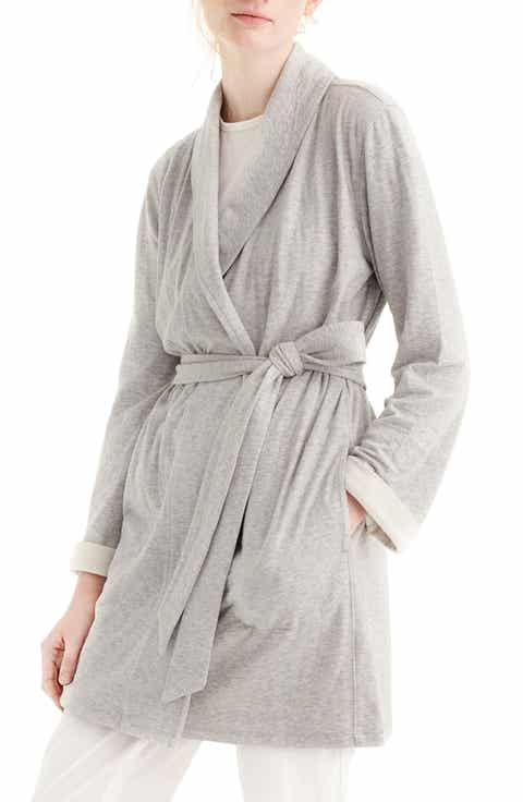 J.Crew Sunday Double Knit Short Robe Sale