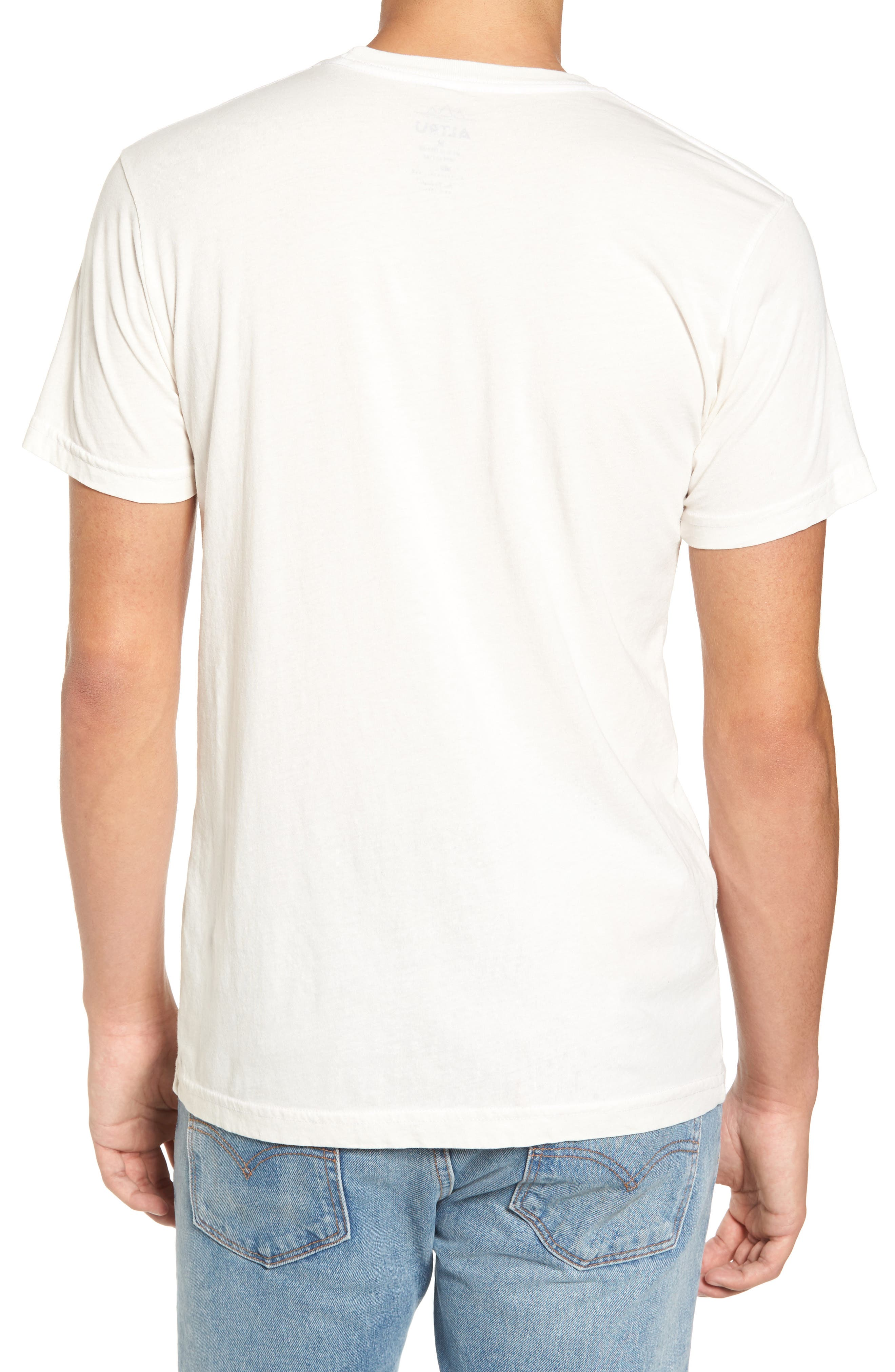 Alternate Image 2  - Altru Paradise Found Embroidered T-Shirt