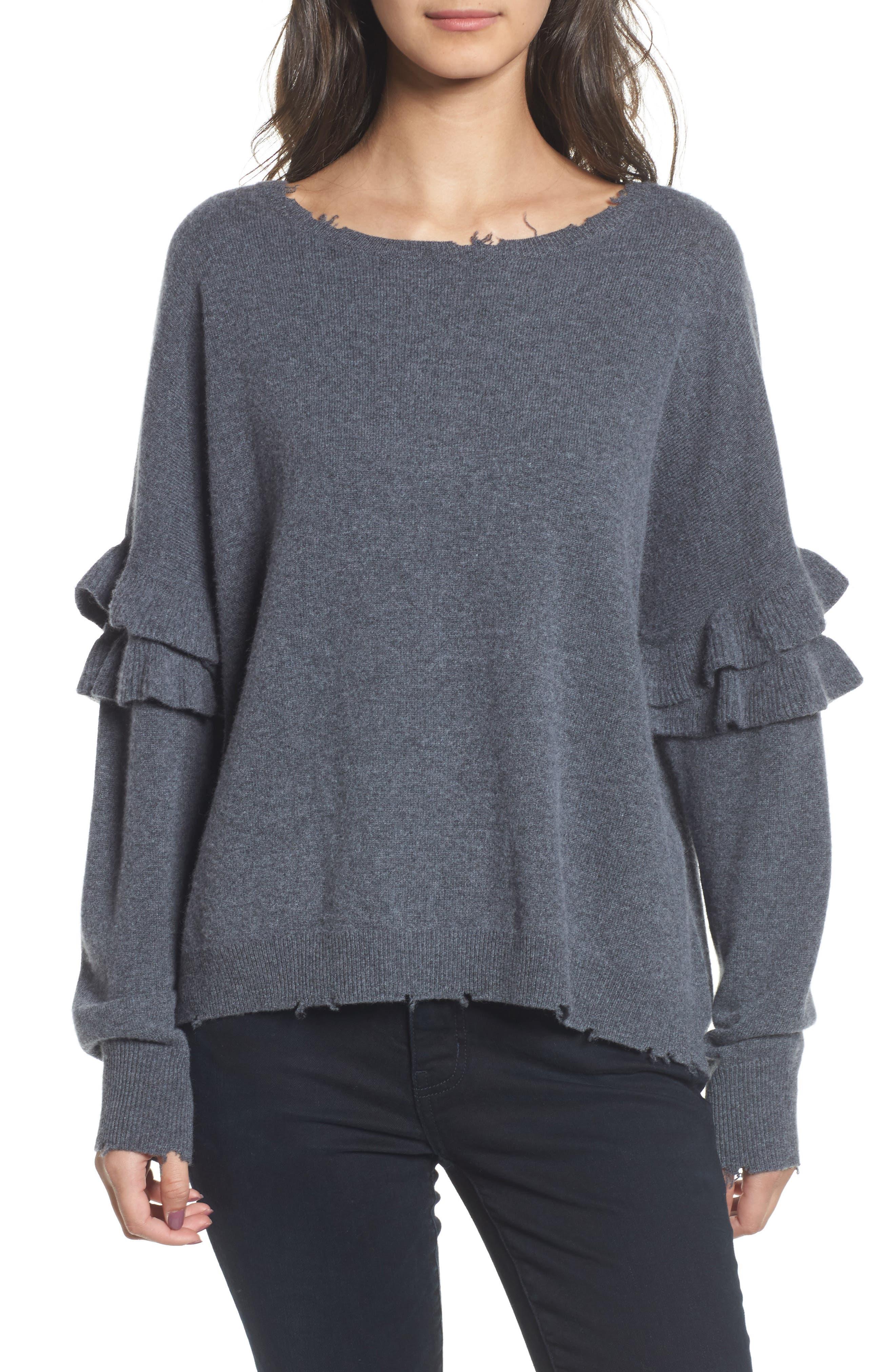 Current/Elliott The Ruffle Sweater