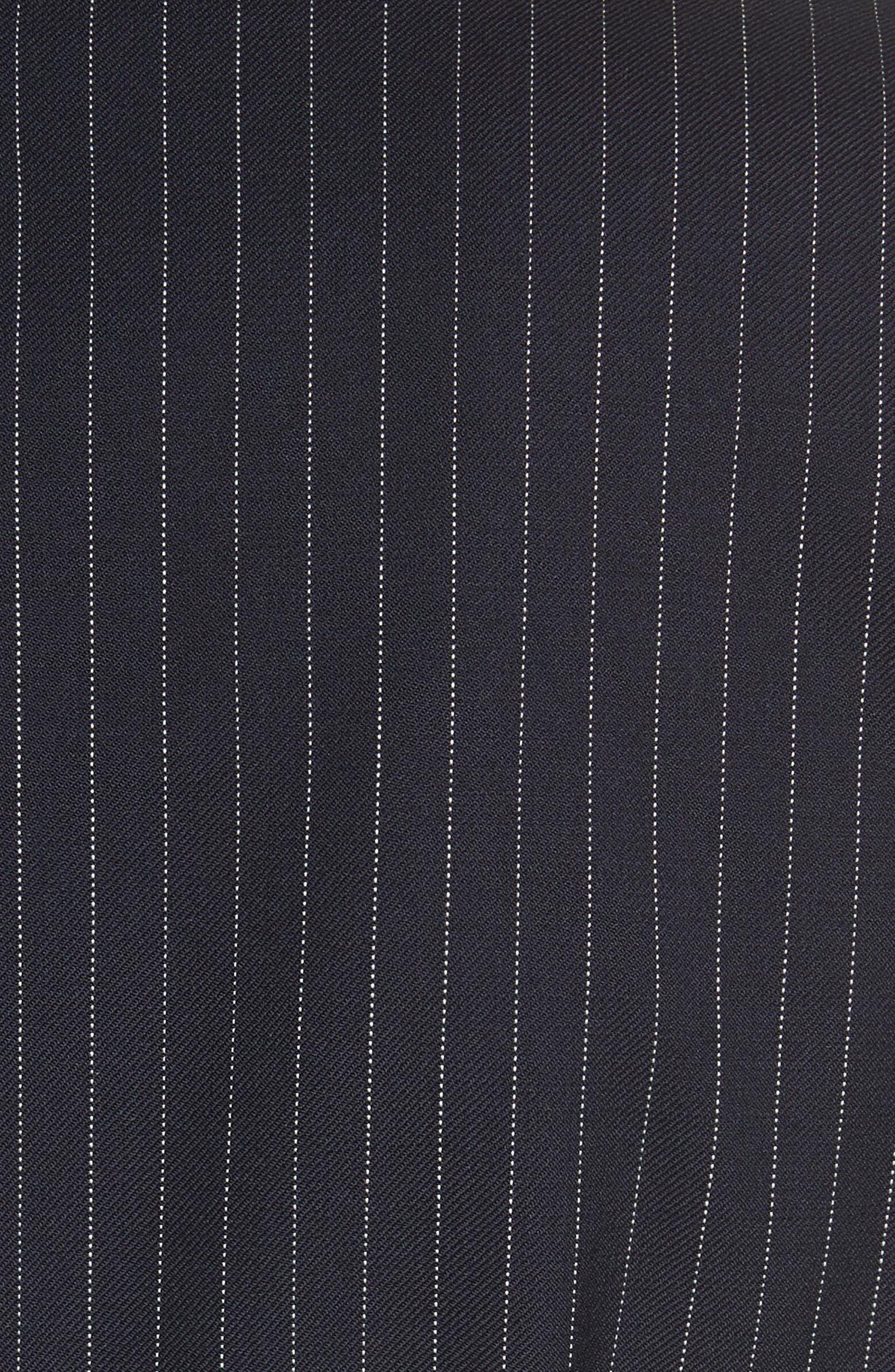 Giunto Stretch Wool Belted Blazer,                             Alternate thumbnail 5, color,                             Ultramarine