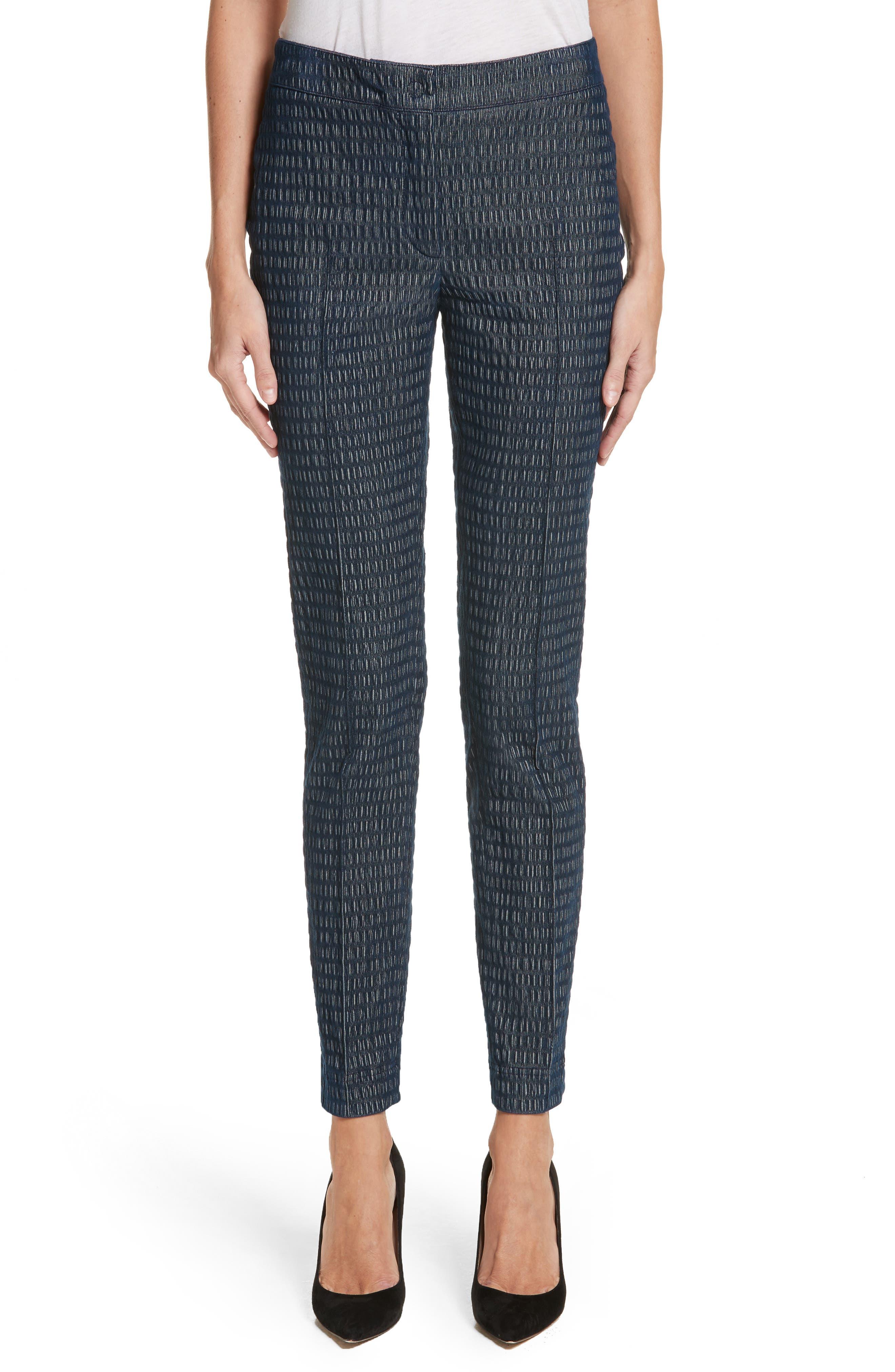 Mara Cloquer Jersey Pants,                         Main,                         color, Indigo