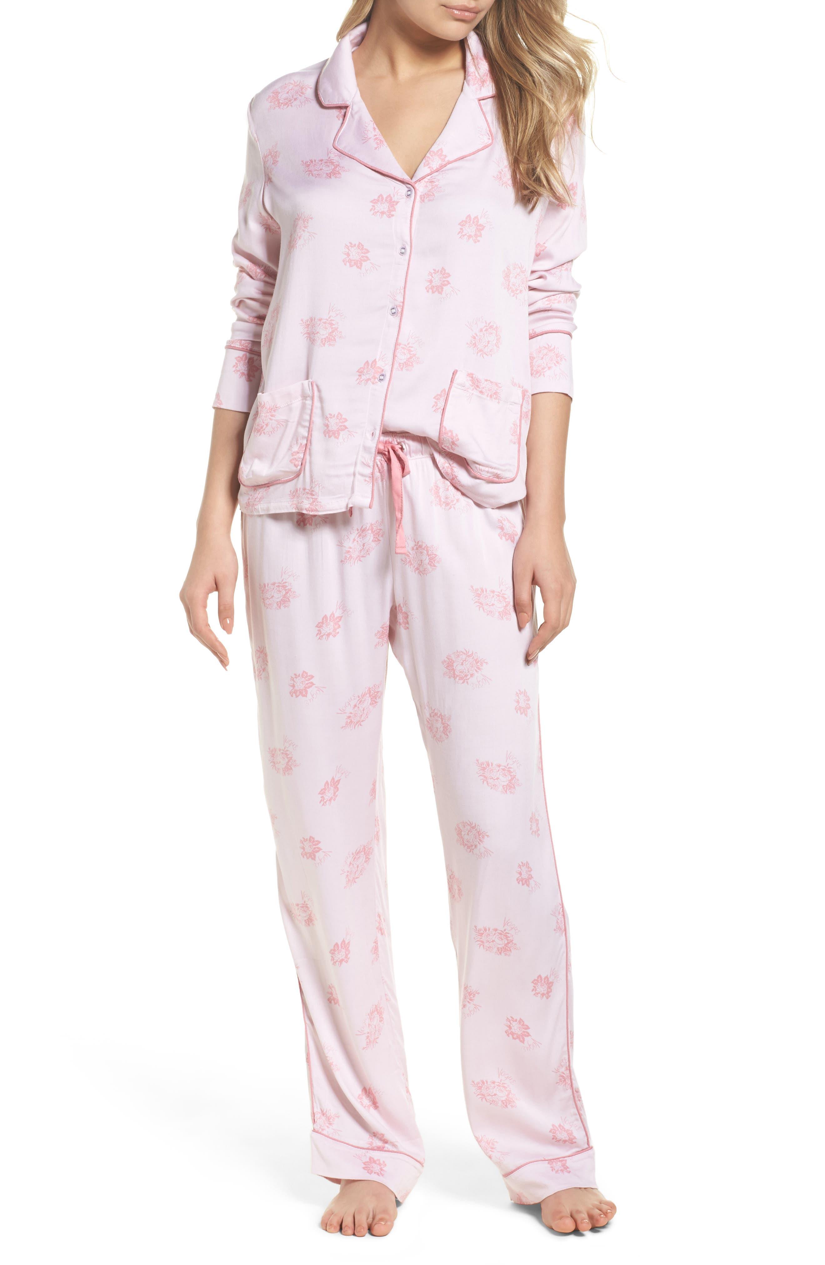 Main Image - Splendid Notch Collar Pajamas