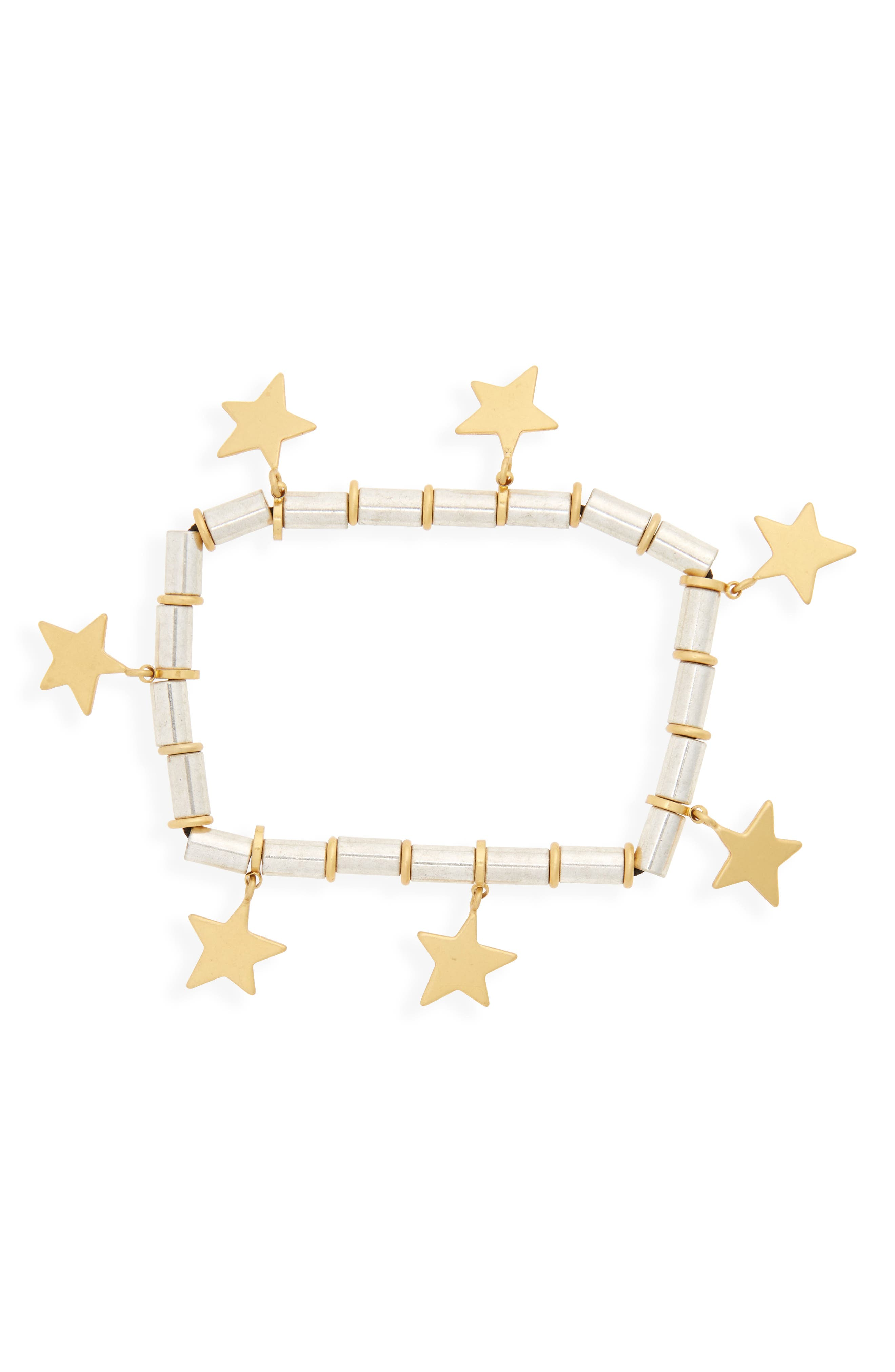 Stellar Star Bracelet,                         Main,                         color, Mixed Metal