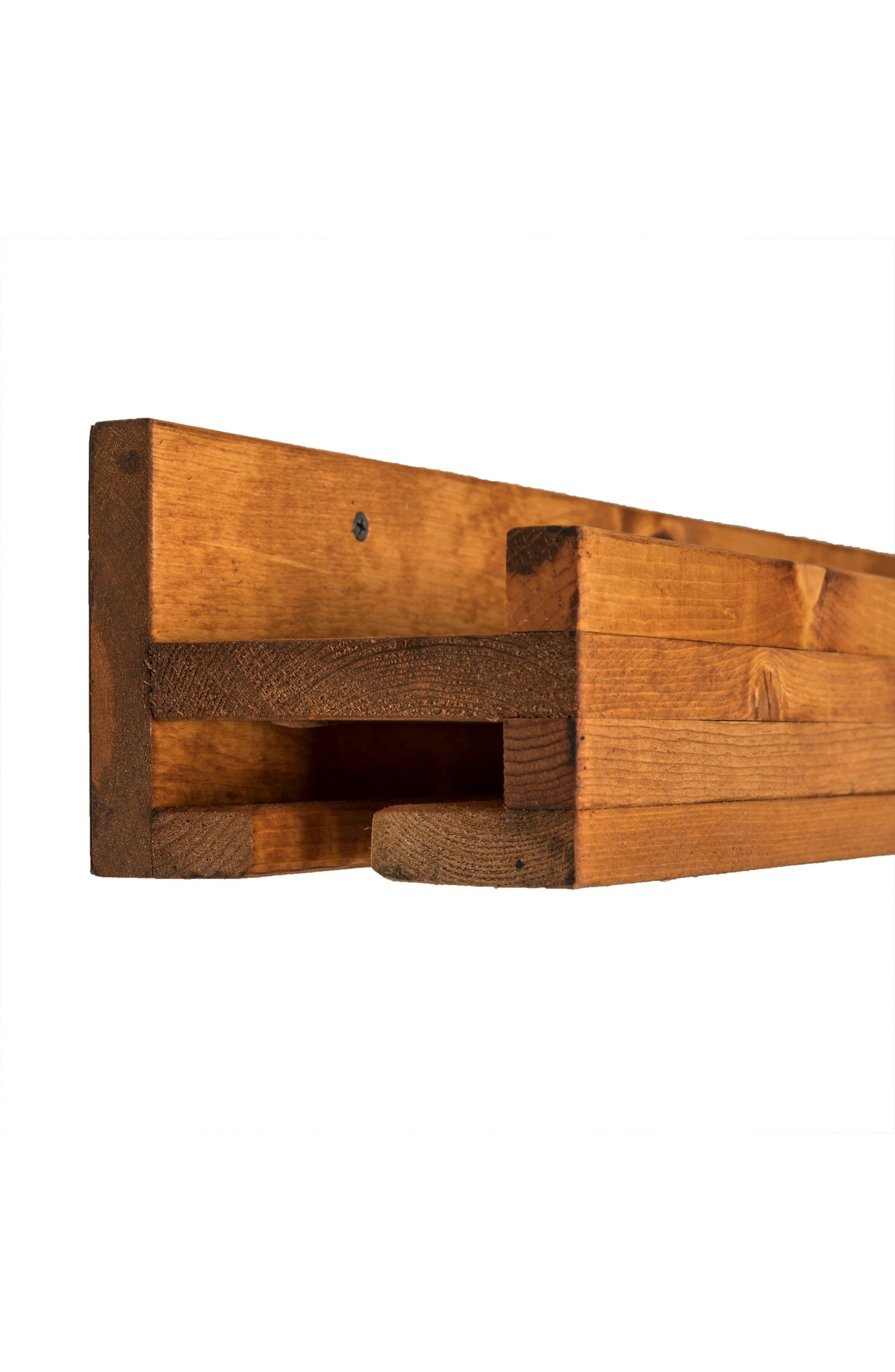 Alternate Image 2  - (del)Hutson Designs Set of 2 Pine Wood Wine Racks