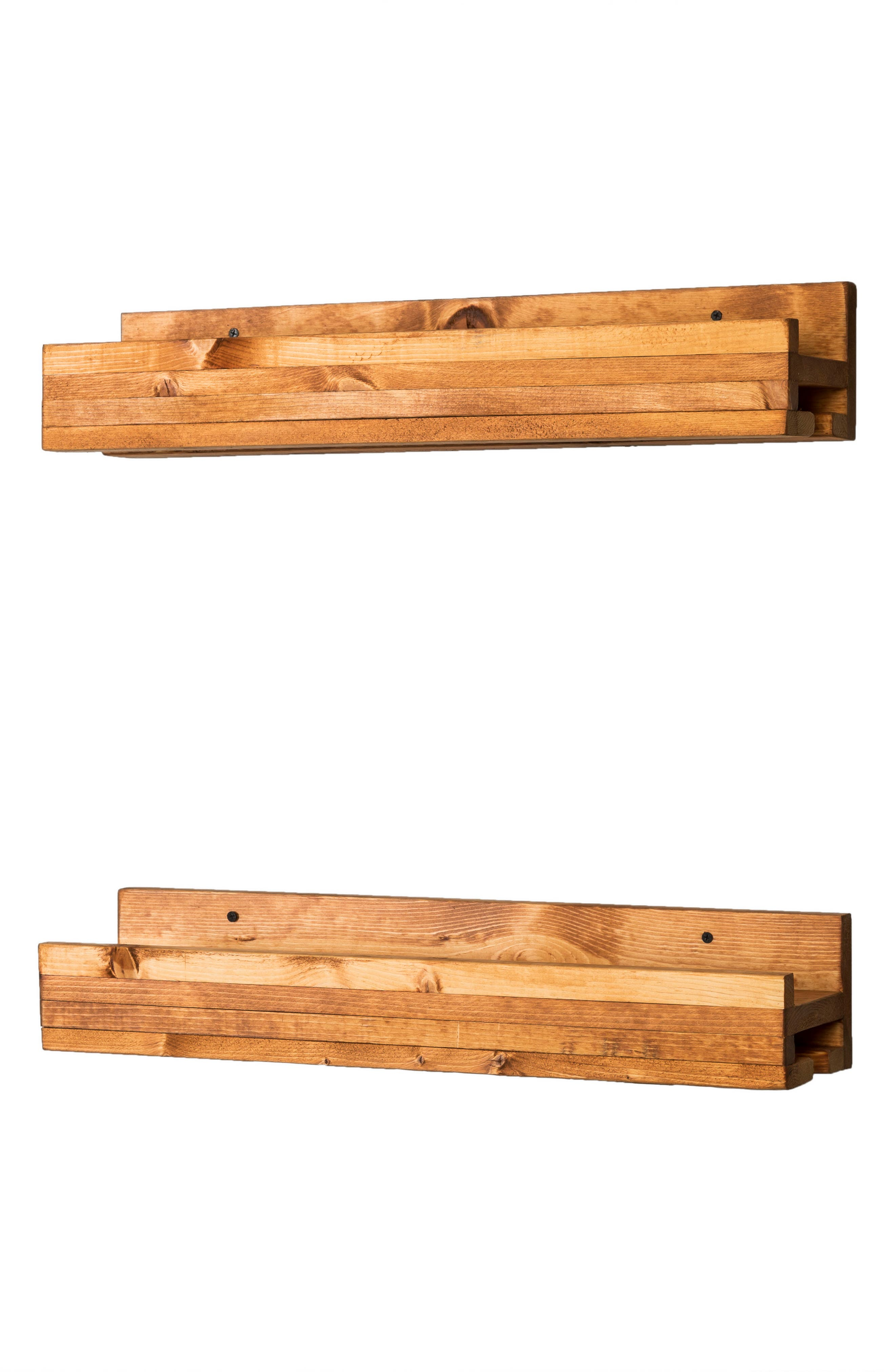 Alternate Image 3  - (del)Hutson Designs Set of 2 Pine Wood Wine Racks