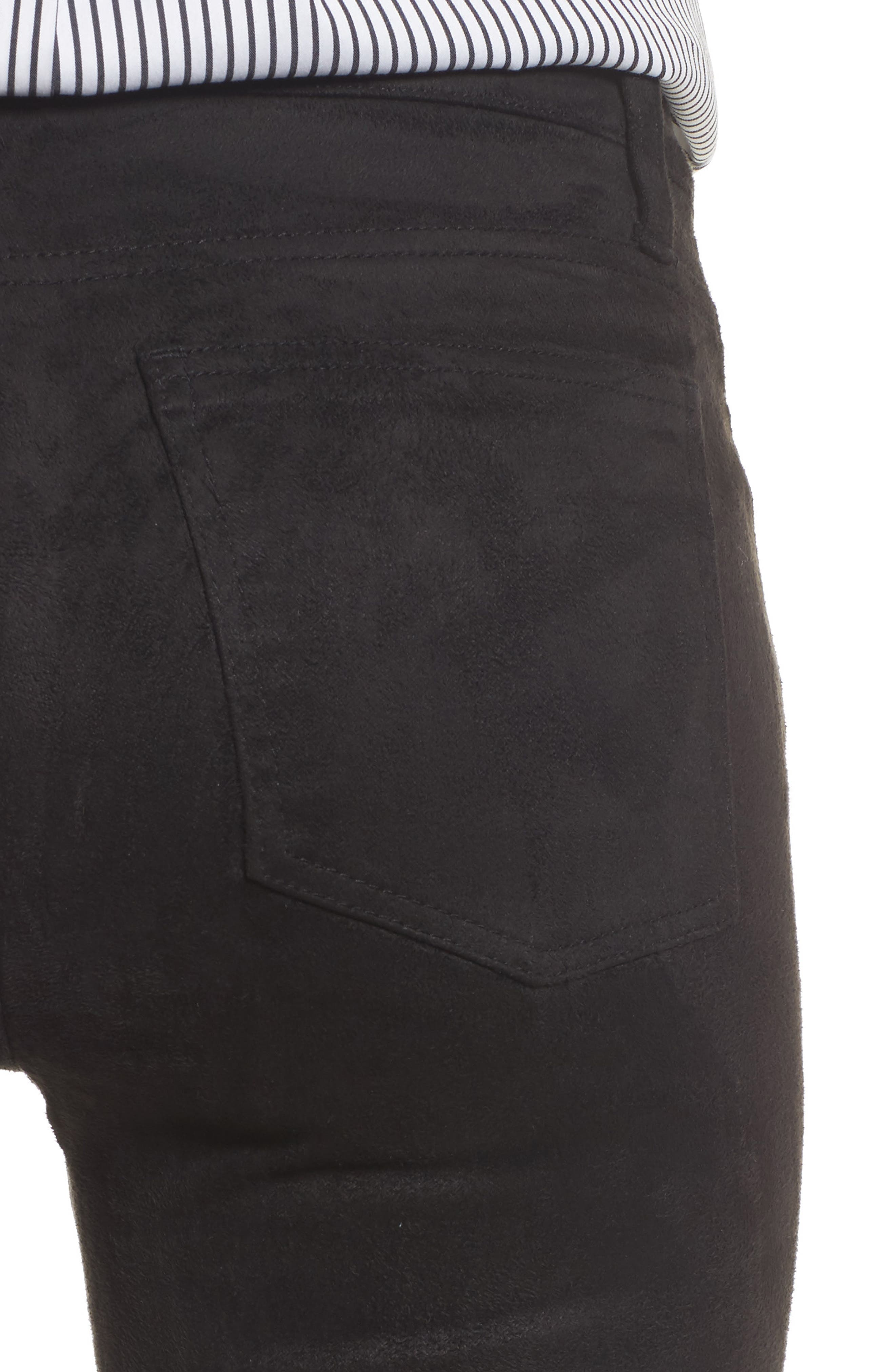 Alternate Image 4  - KUT from the Kloth Mia Faux Suede Skinny Jeans