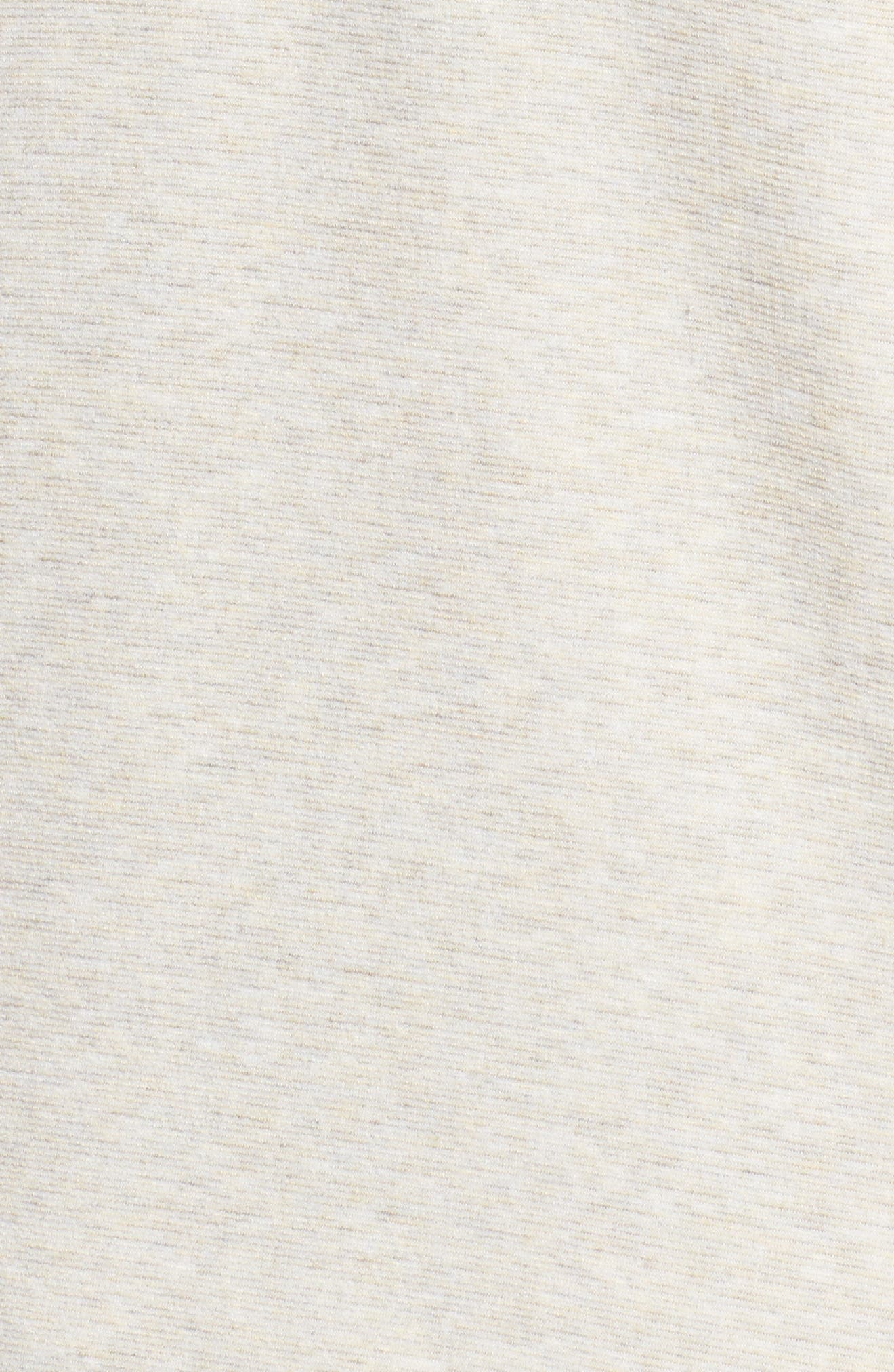 Alternate Image 5  - Bobeau One-Button Fleece Cardigan (Plus Size)