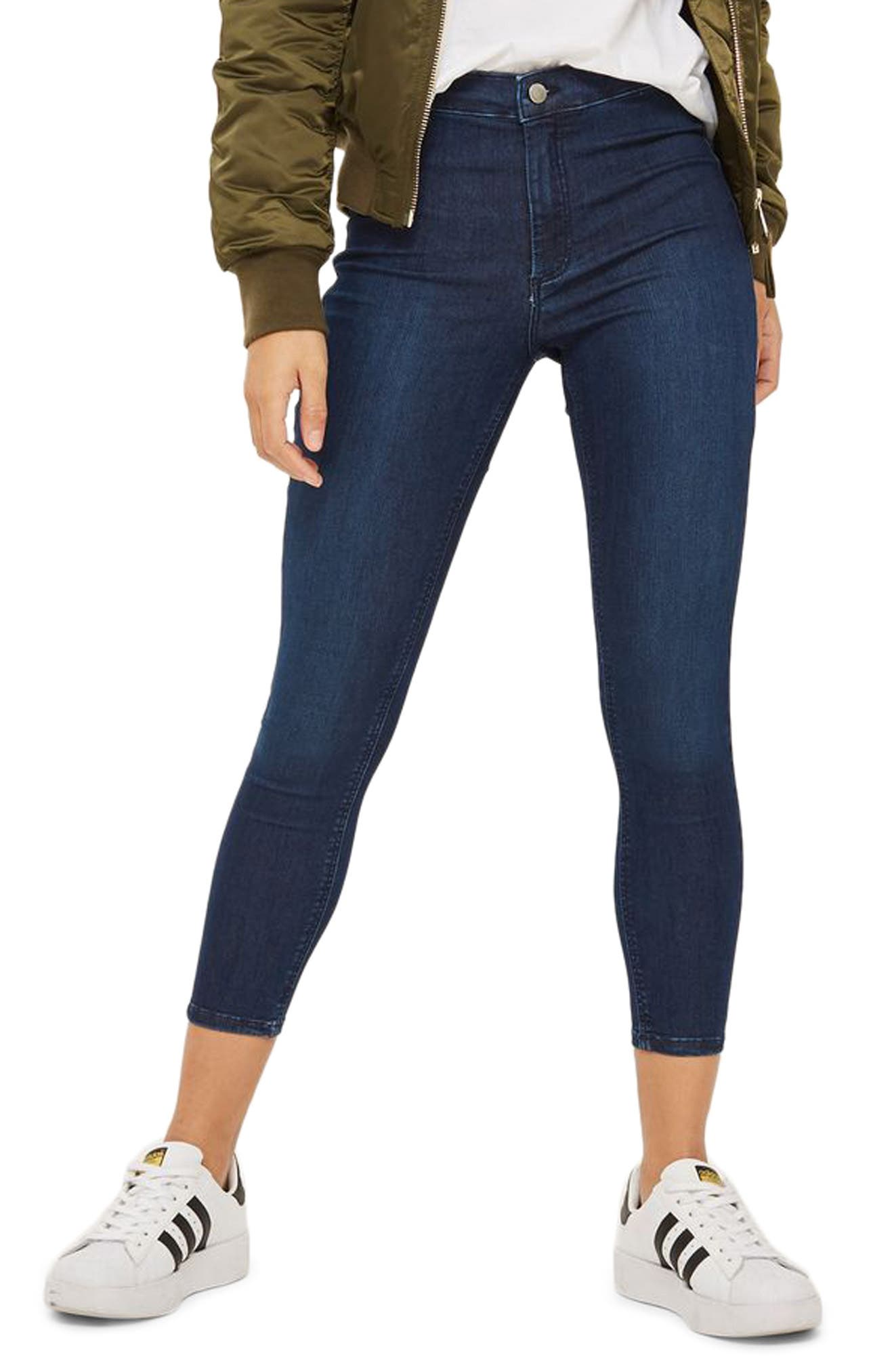 Alternate Image 1 Selected - Topshop Joni High Waist Skinny Jeans (Petite)