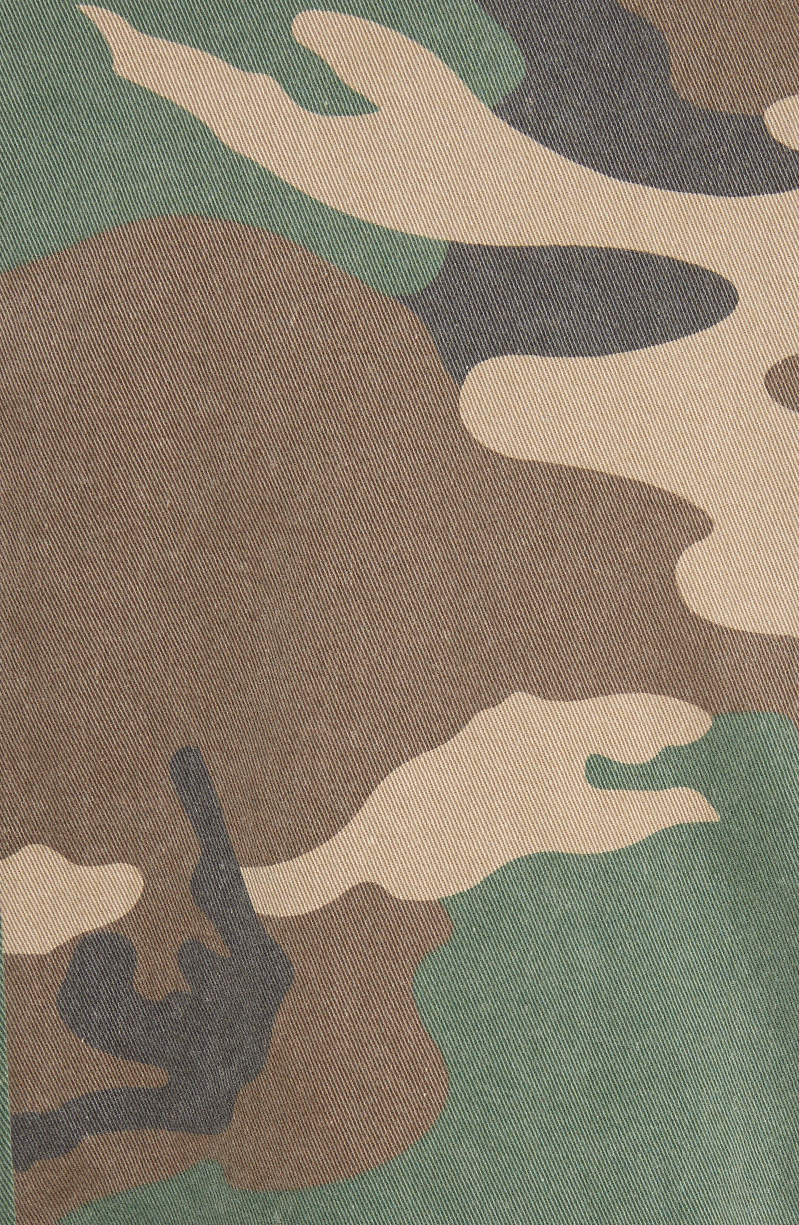 Shango Camo Jacket,                             Alternate thumbnail 5, color,                             Camo Multi