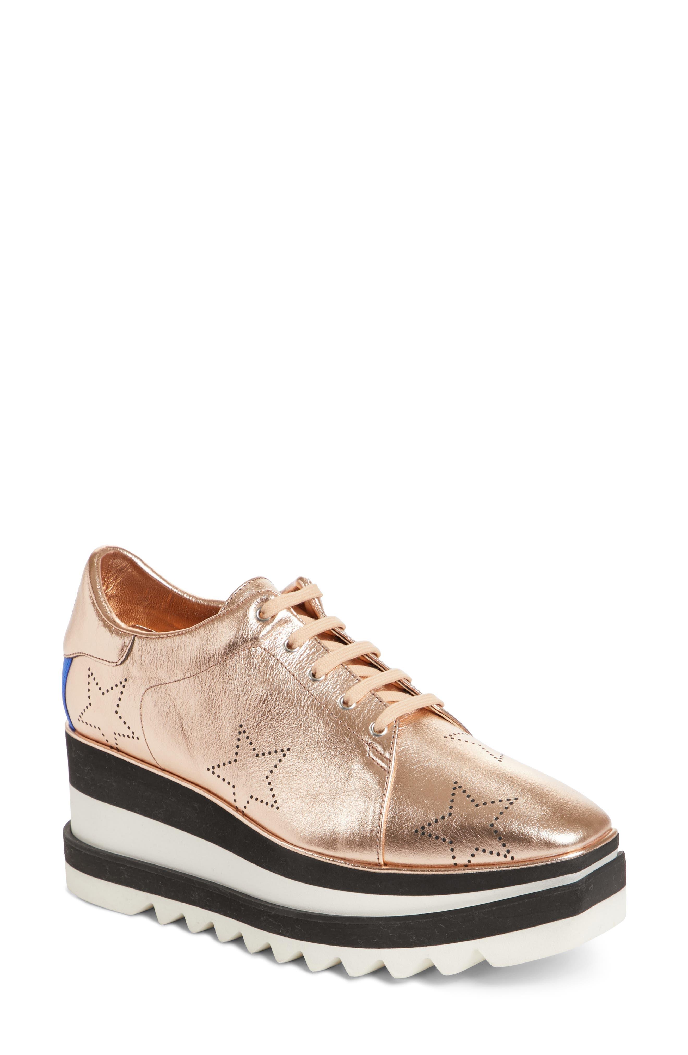 Alternate Image 1 Selected - Stella McCartney Elyse Platform Sneaker (Women)