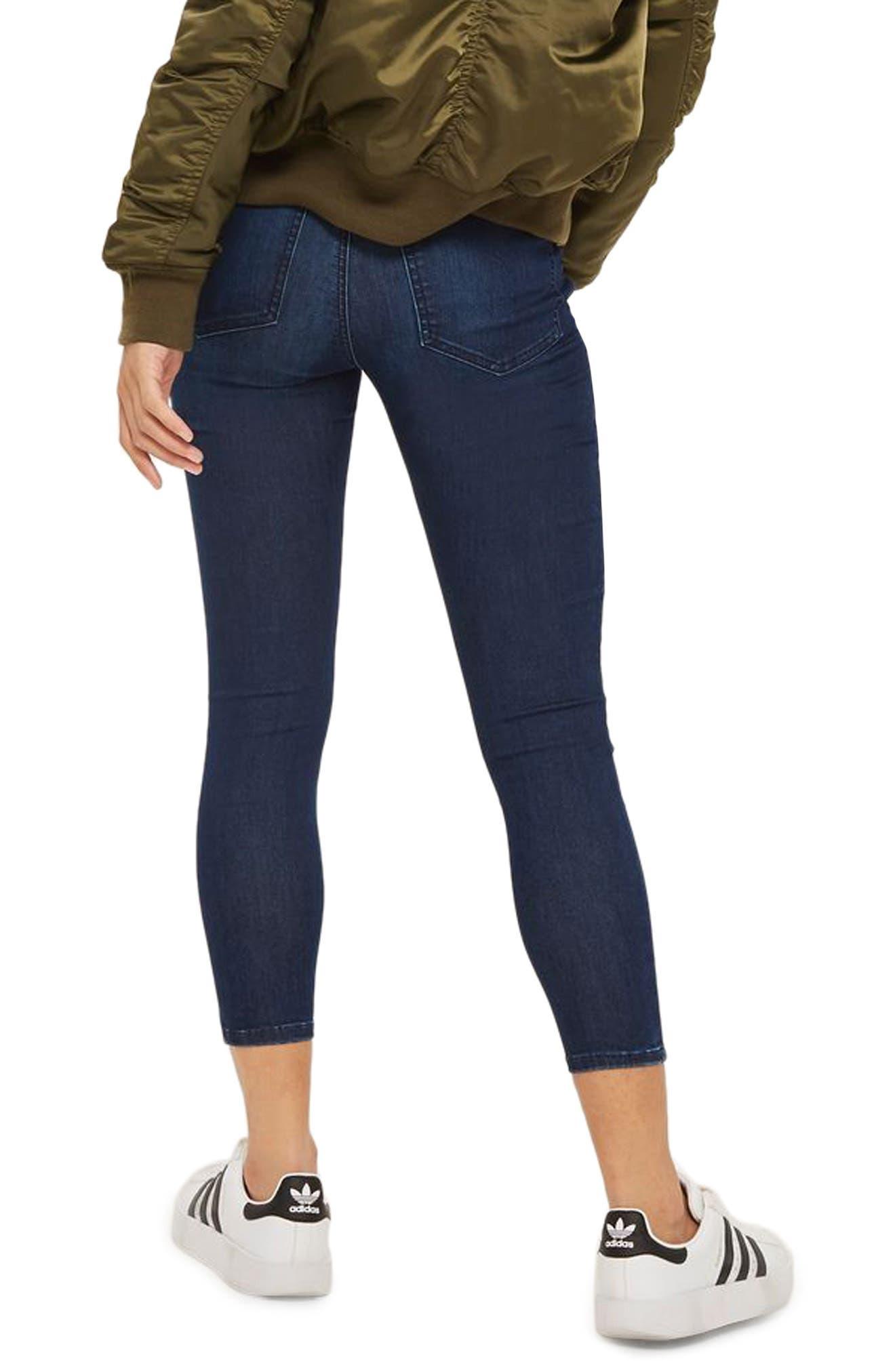 Alternate Image 2  - Topshop Joni High Waist Skinny Jeans (Petite)