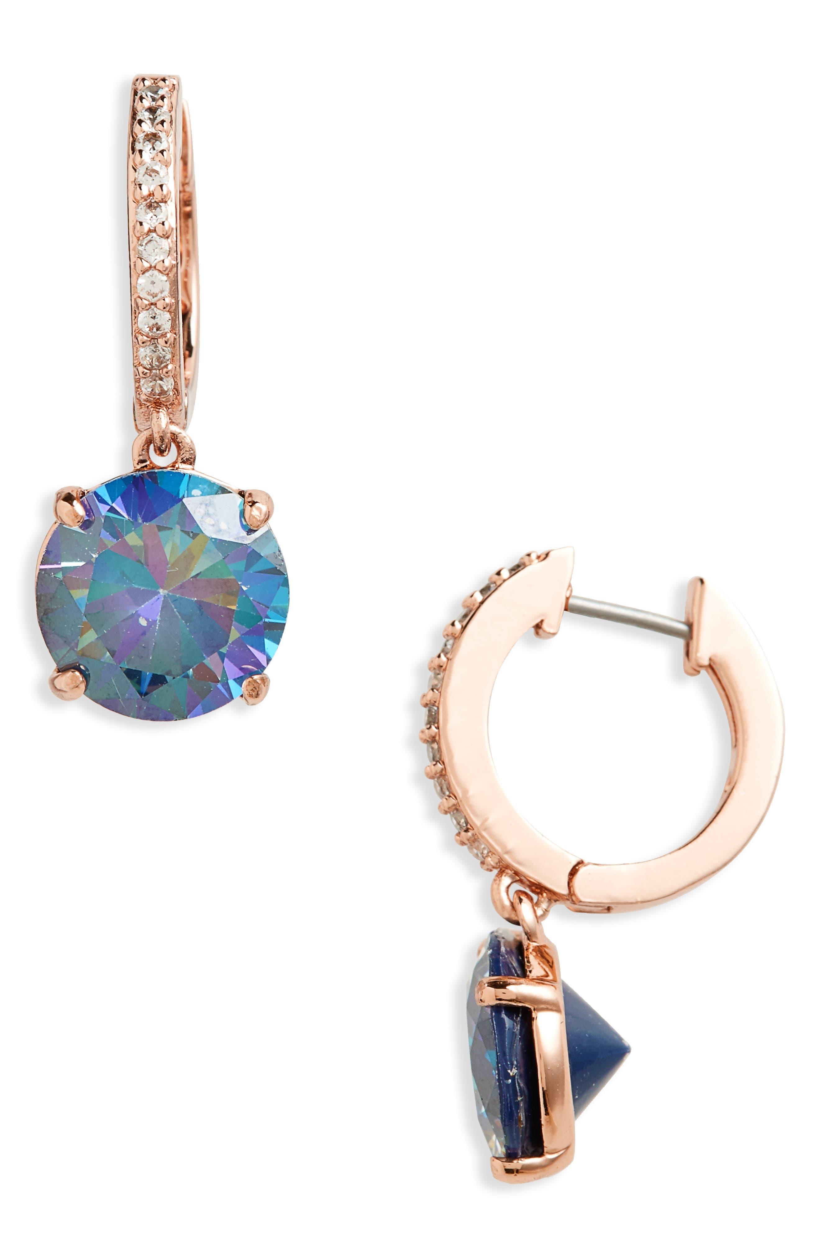 bright ideas drop earrings,                             Main thumbnail 1, color,                             Navy