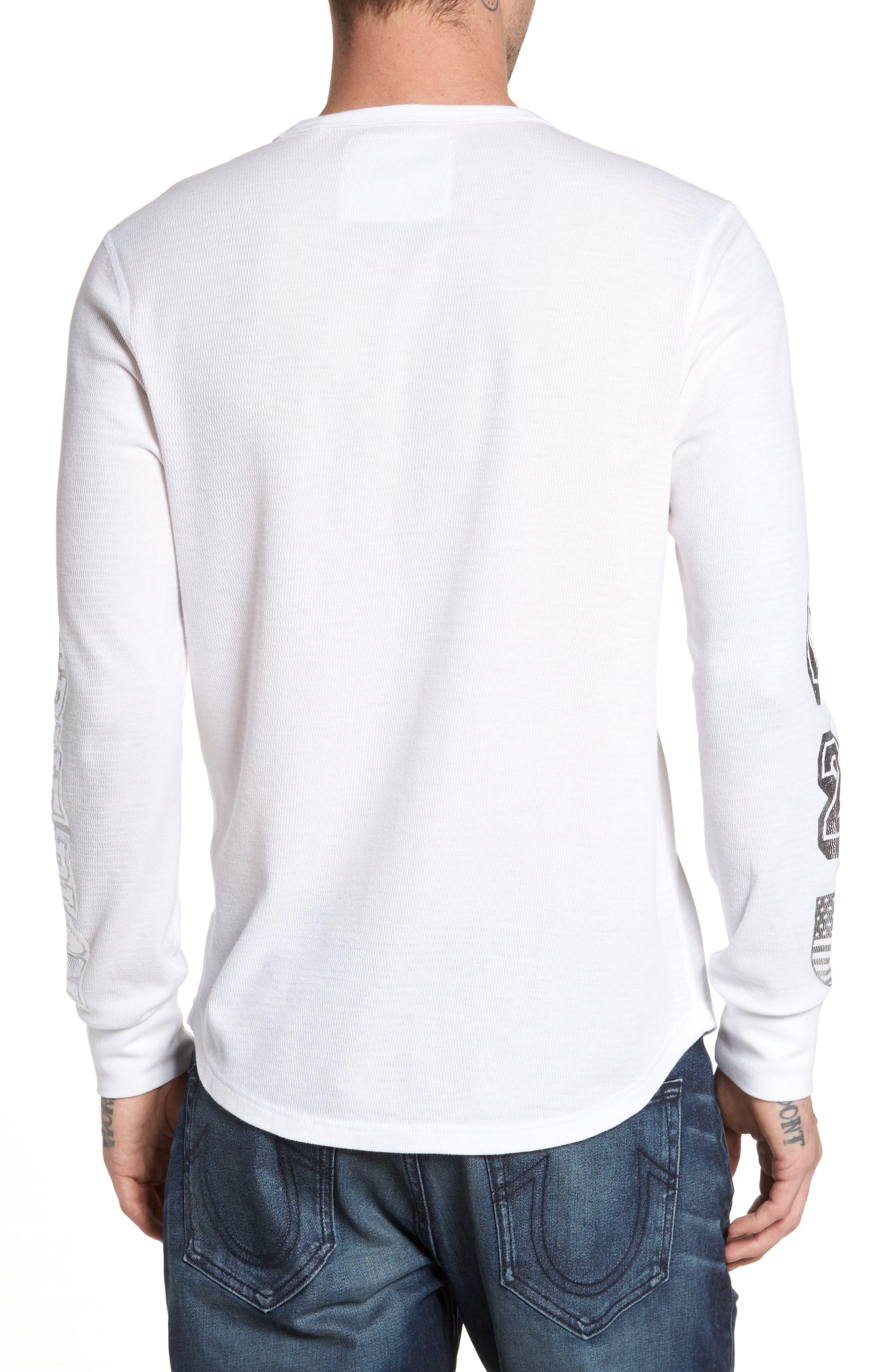 Alternate Image 2  - True Religion Brand Jeans Thermal T-Shirt