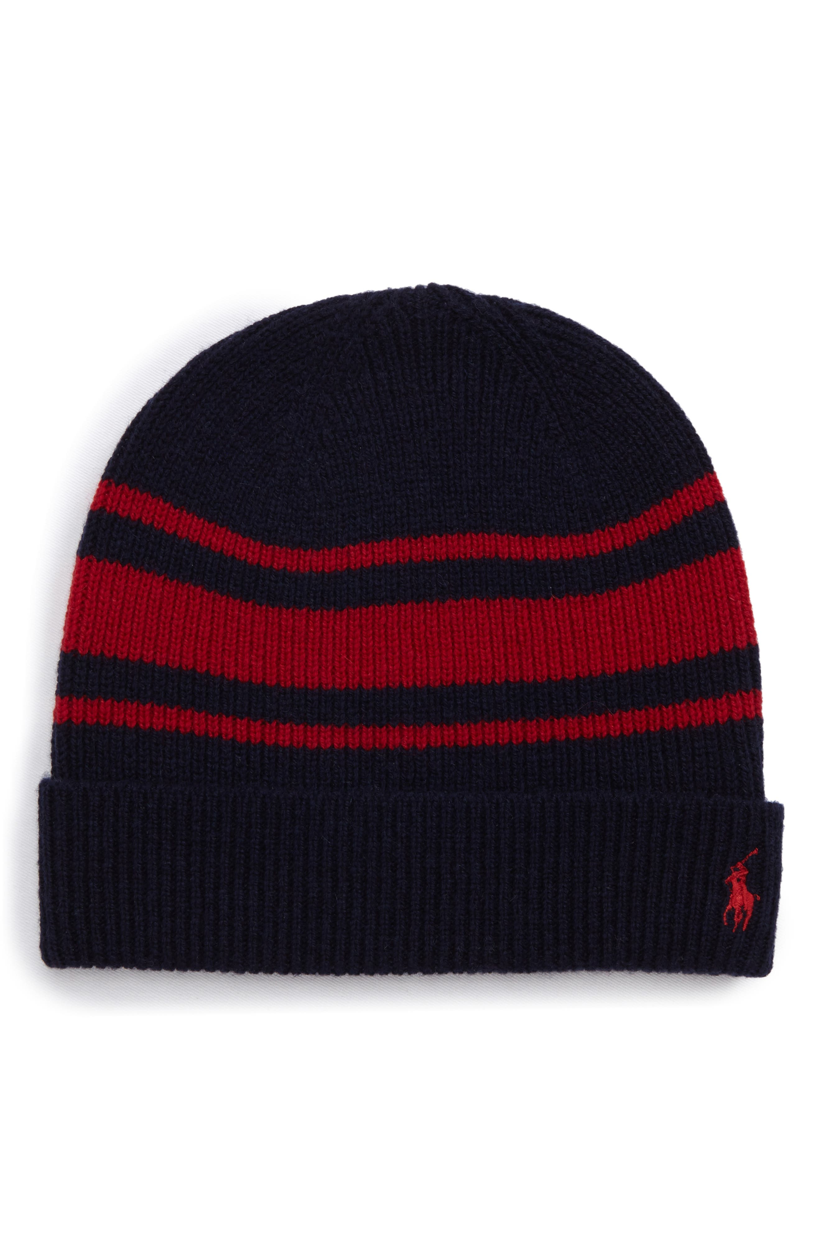 Polo Ralph Lauren Rugby Stripe Wool Blend Cap