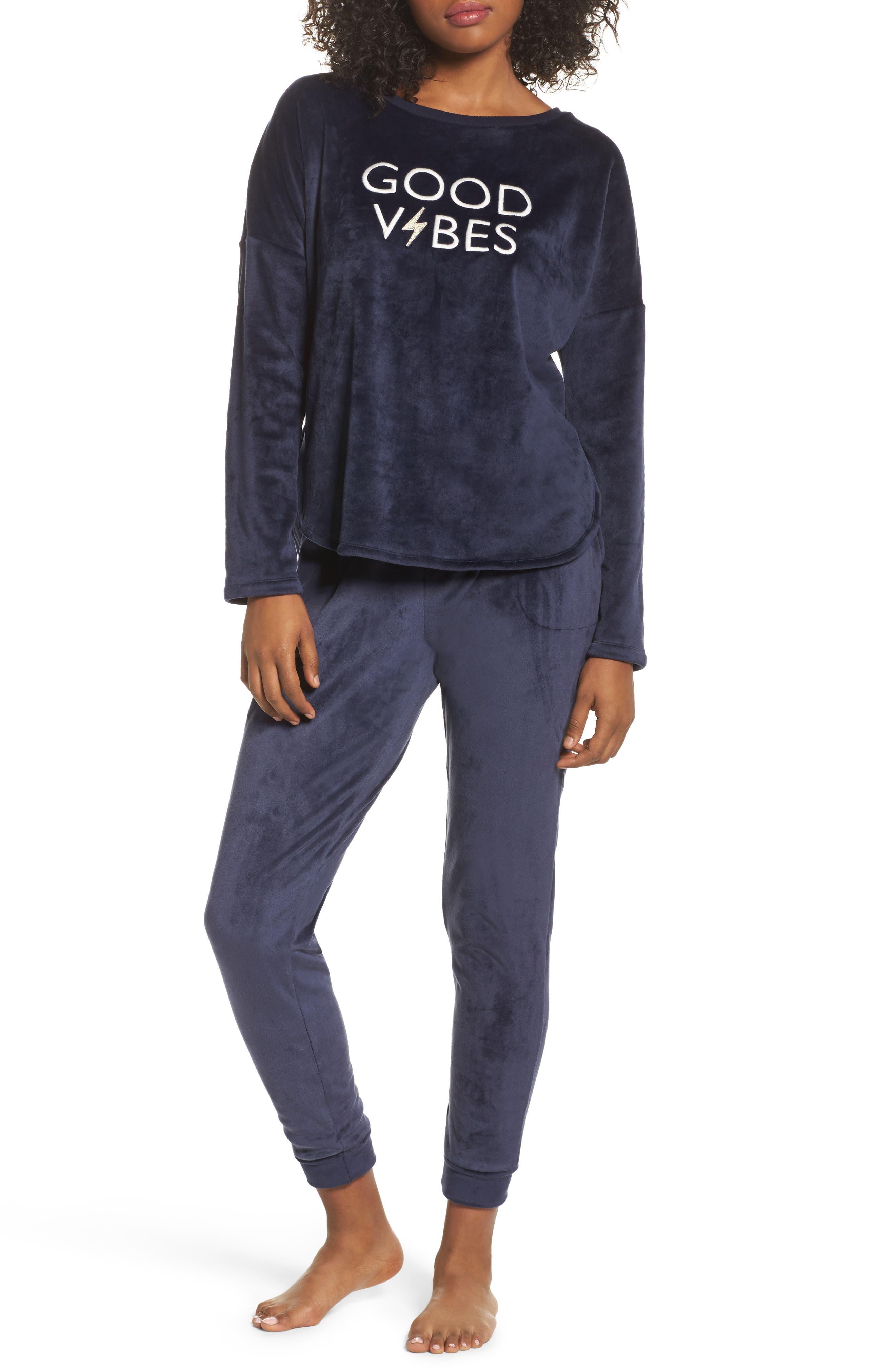 Alternate Image 5  - Room Service Luxury Plush Sweatshirt
