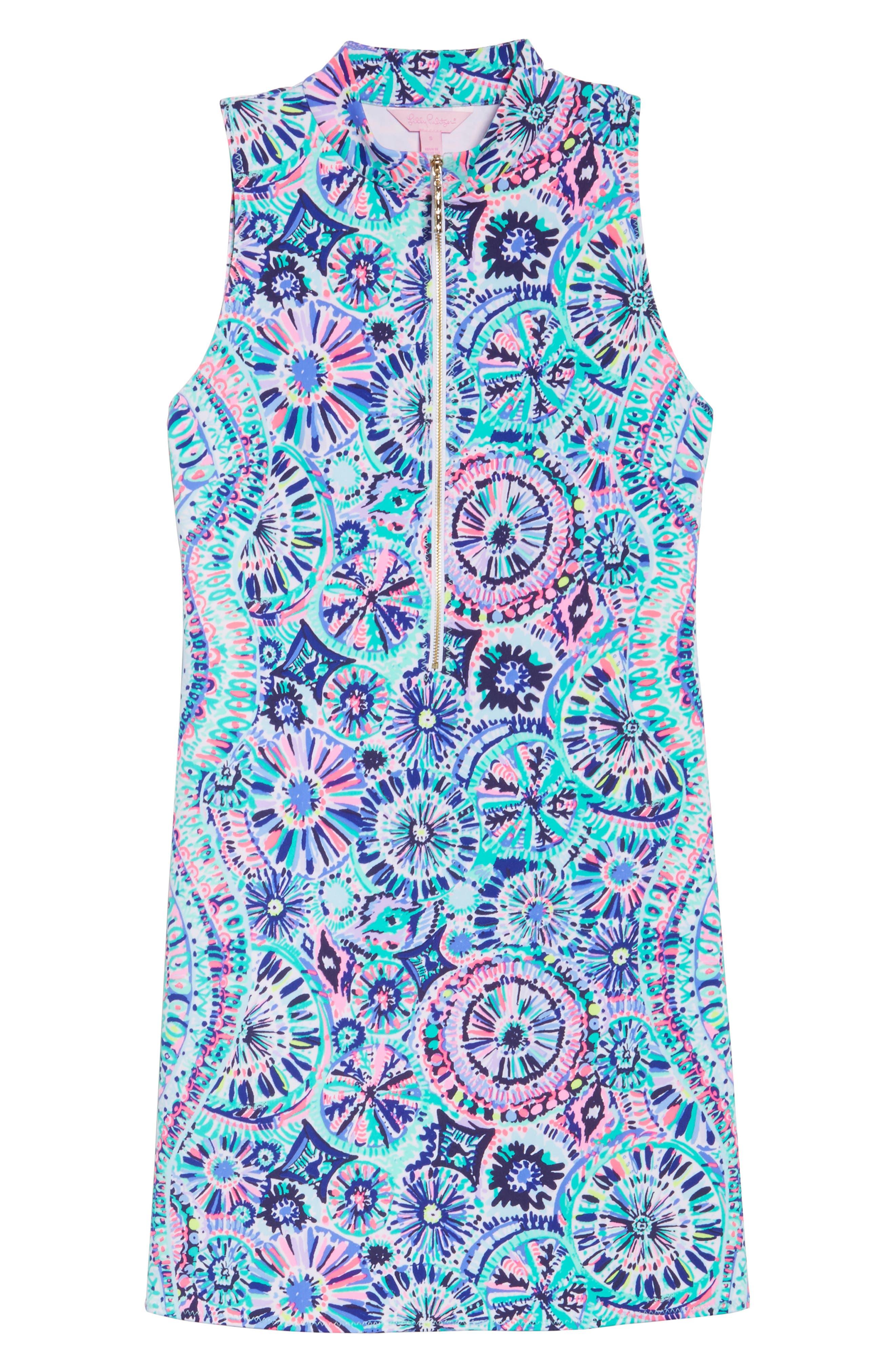 Opal Sheath Dress,                             Alternate thumbnail 6, color,                             Multi The Swim