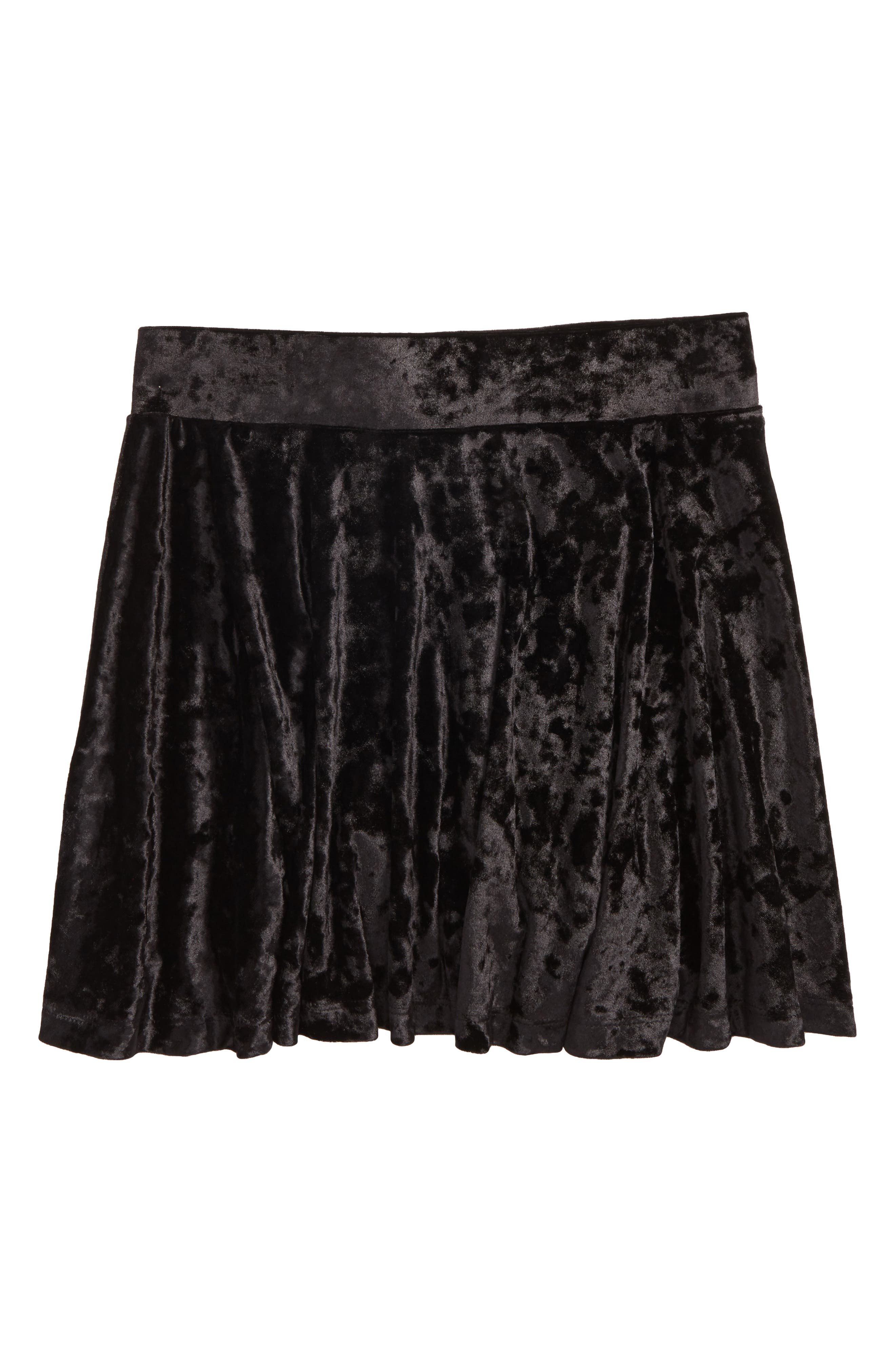 Tucker + Tate Velour Skater Skirt (Big Girls)
