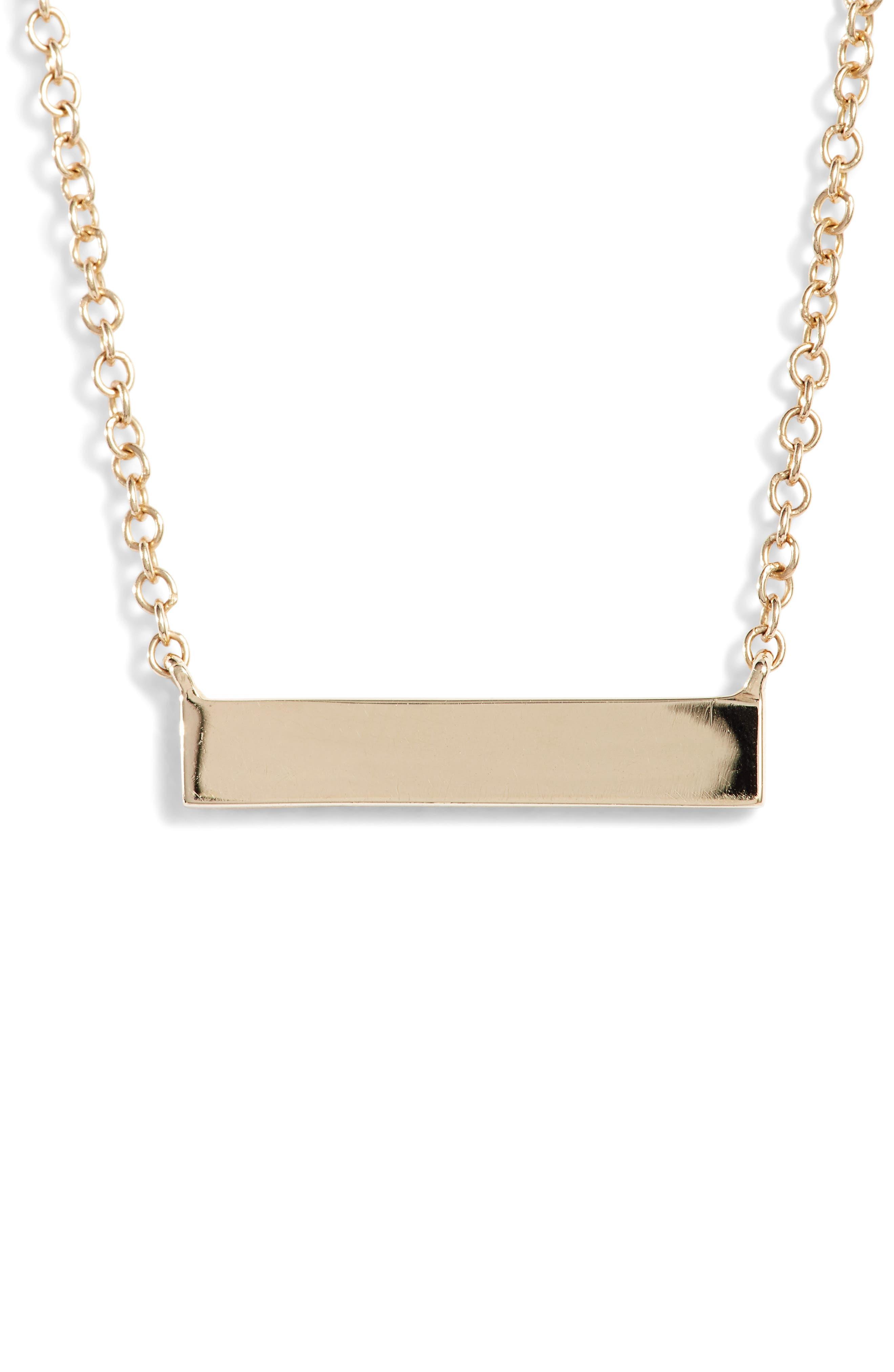 Alternate Image 4  - EF COLLECTION Mini Diamond Pendant Necklace