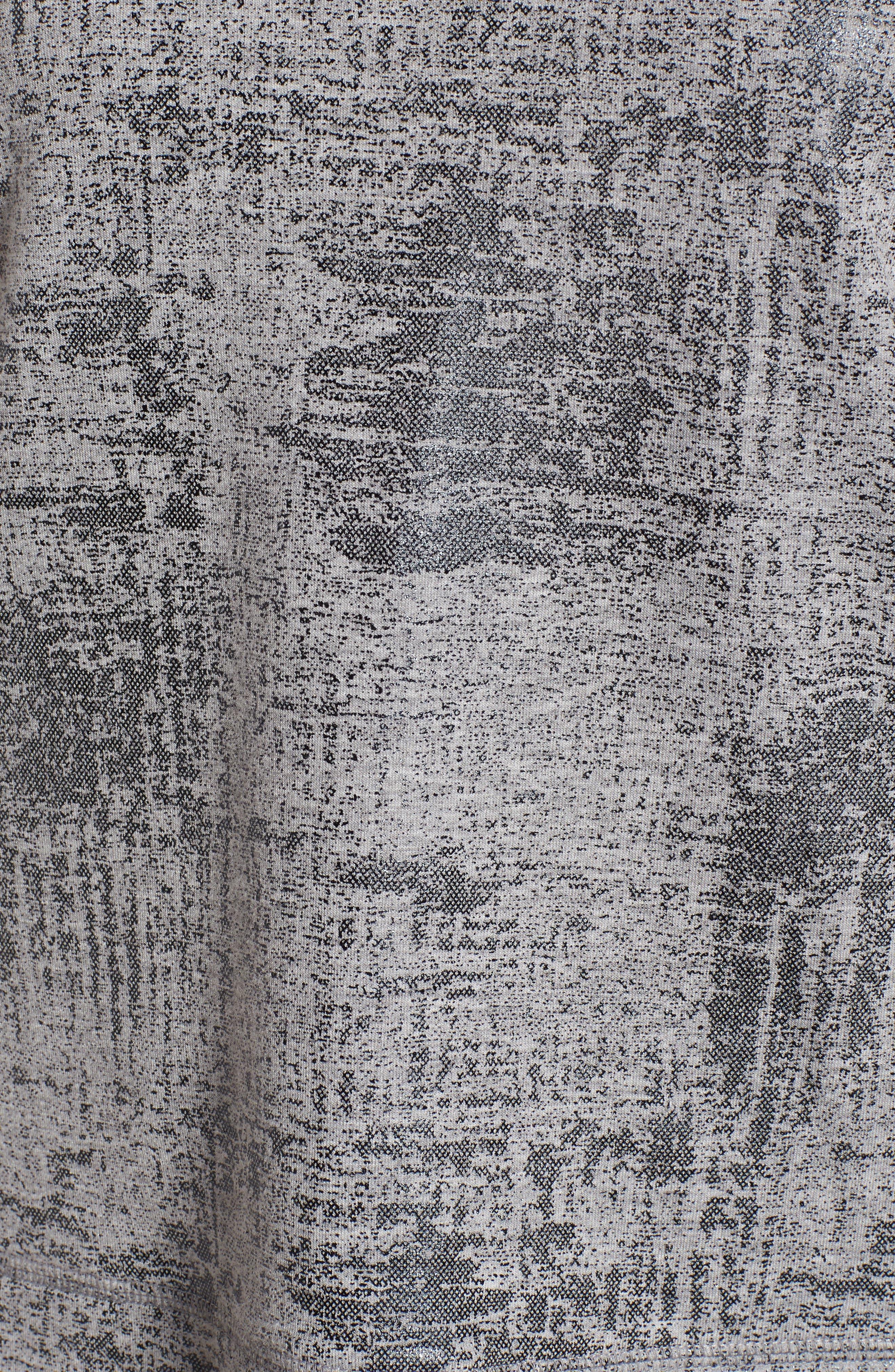 Alternate Image 5  - Halogen® Foiled Sweatshirt