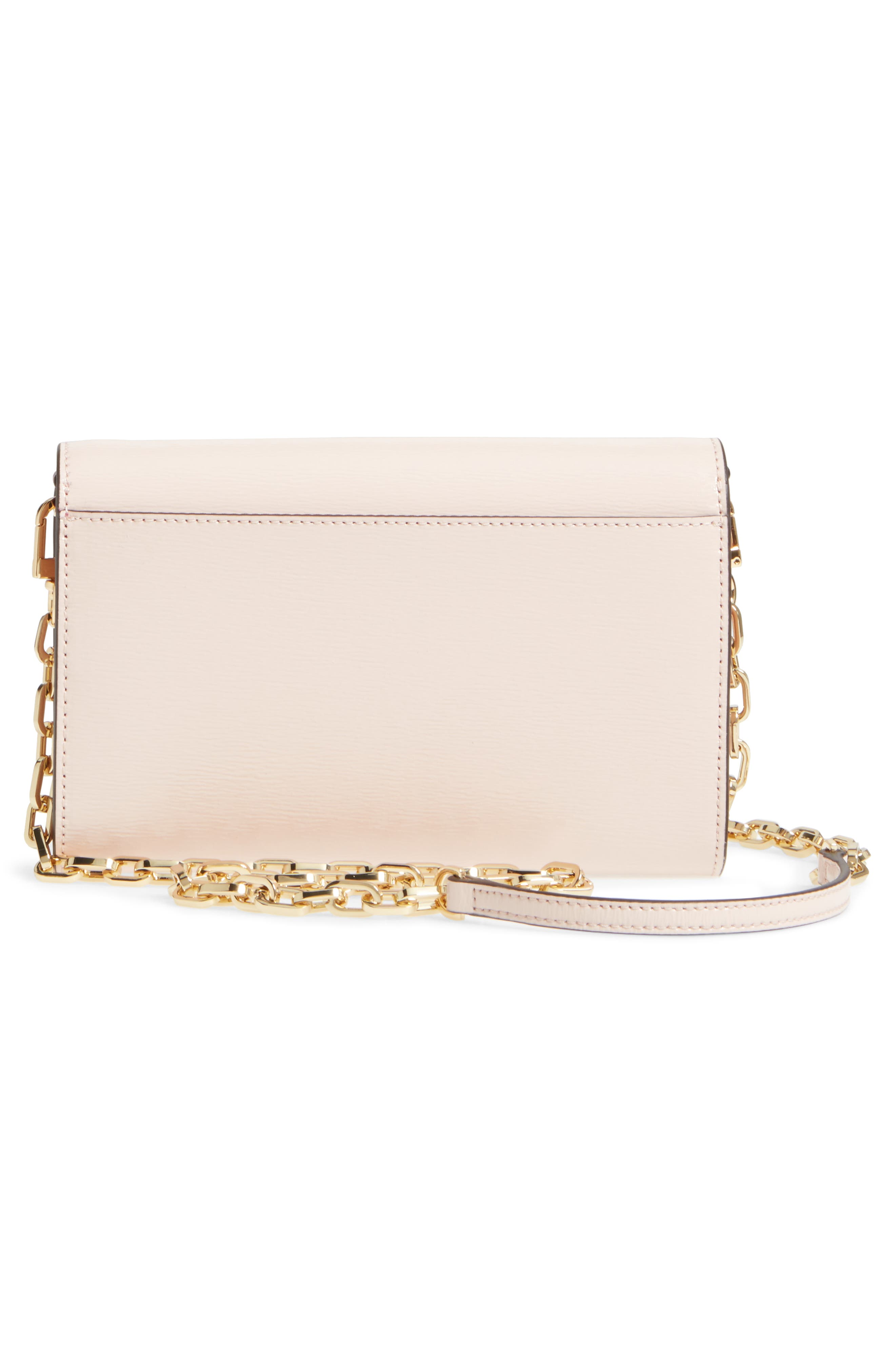 Alternate Image 3  - Tory Burch Robinson Patent Leather Wallet on a Chain