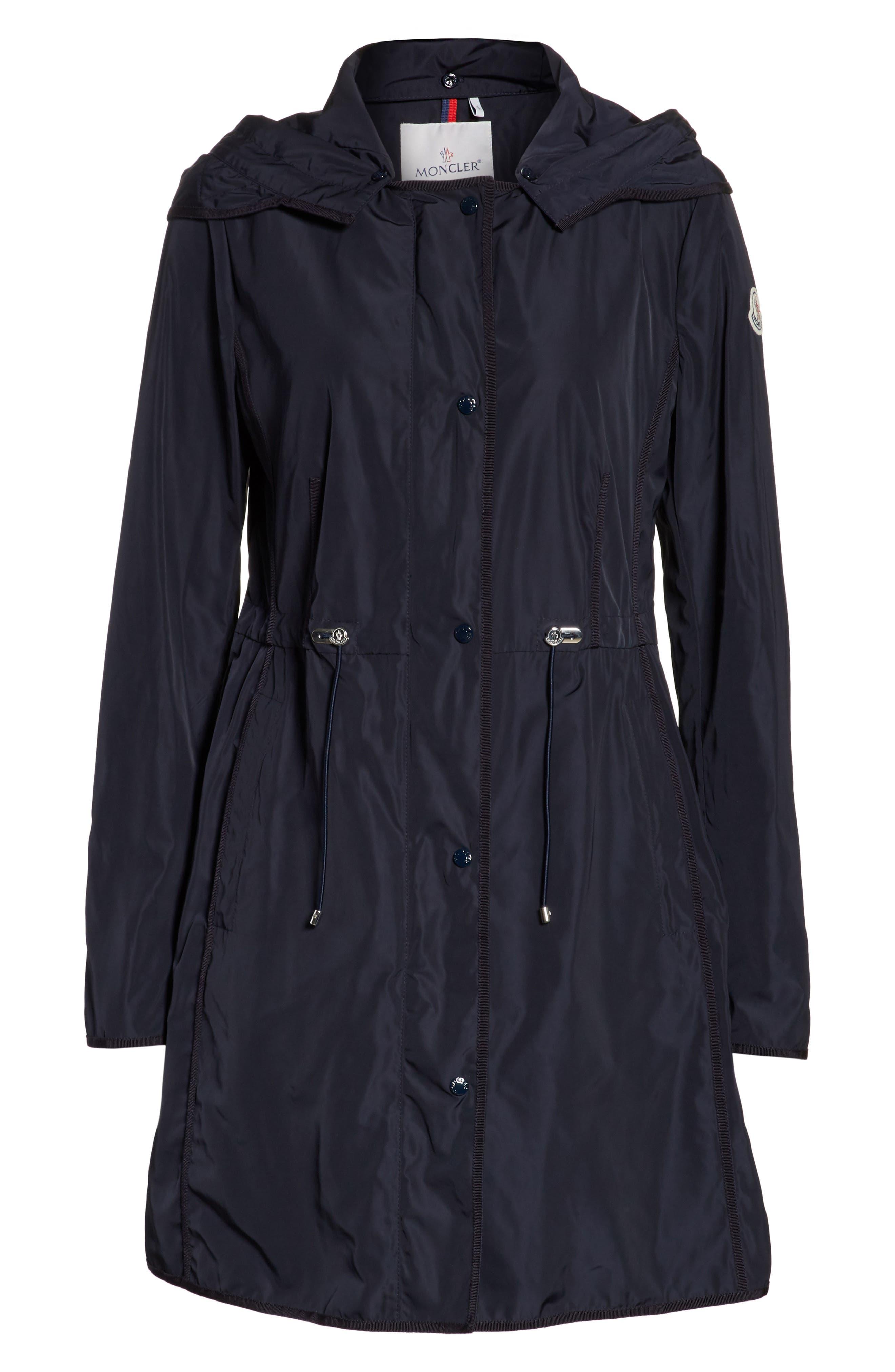 Alternate Image 6  - Moncler Anthemis Rain Coat