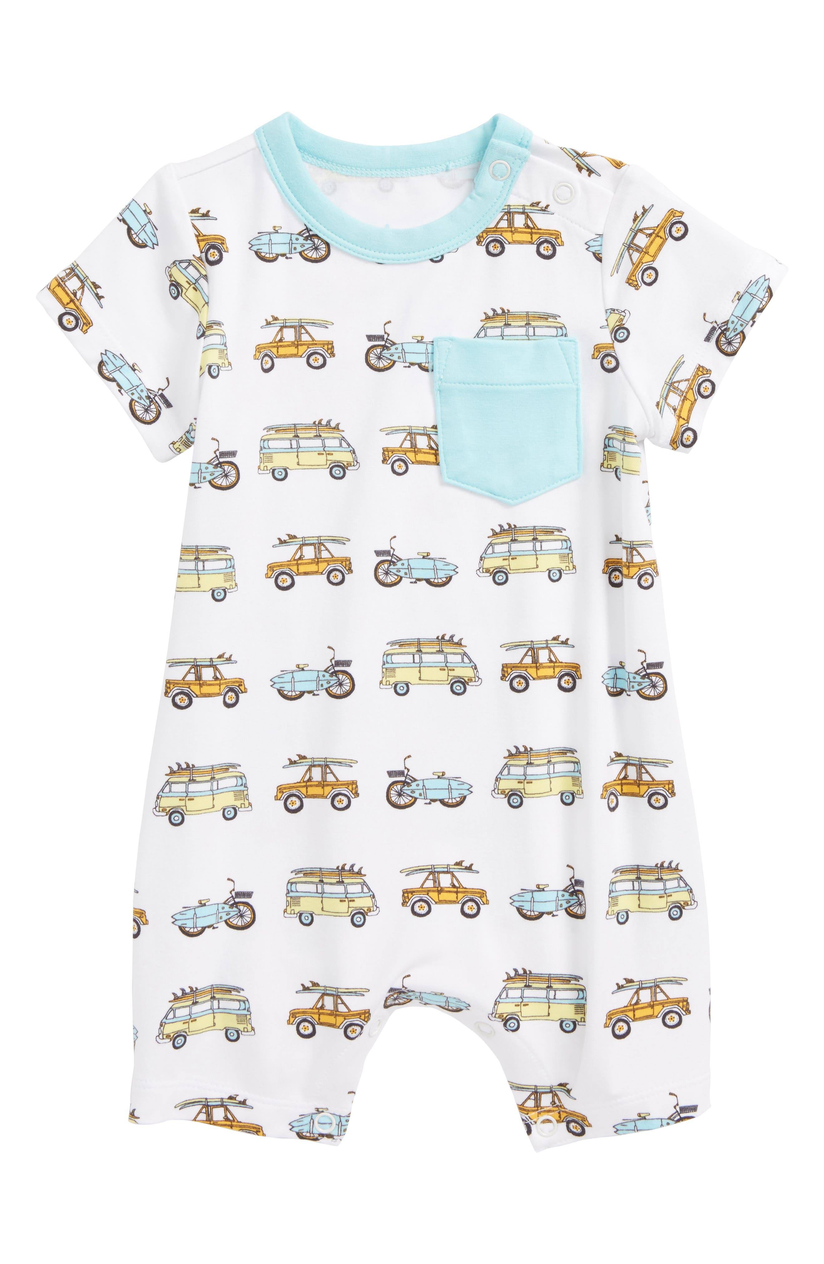 Coco Moon Surf Mobiles Romper (Baby)