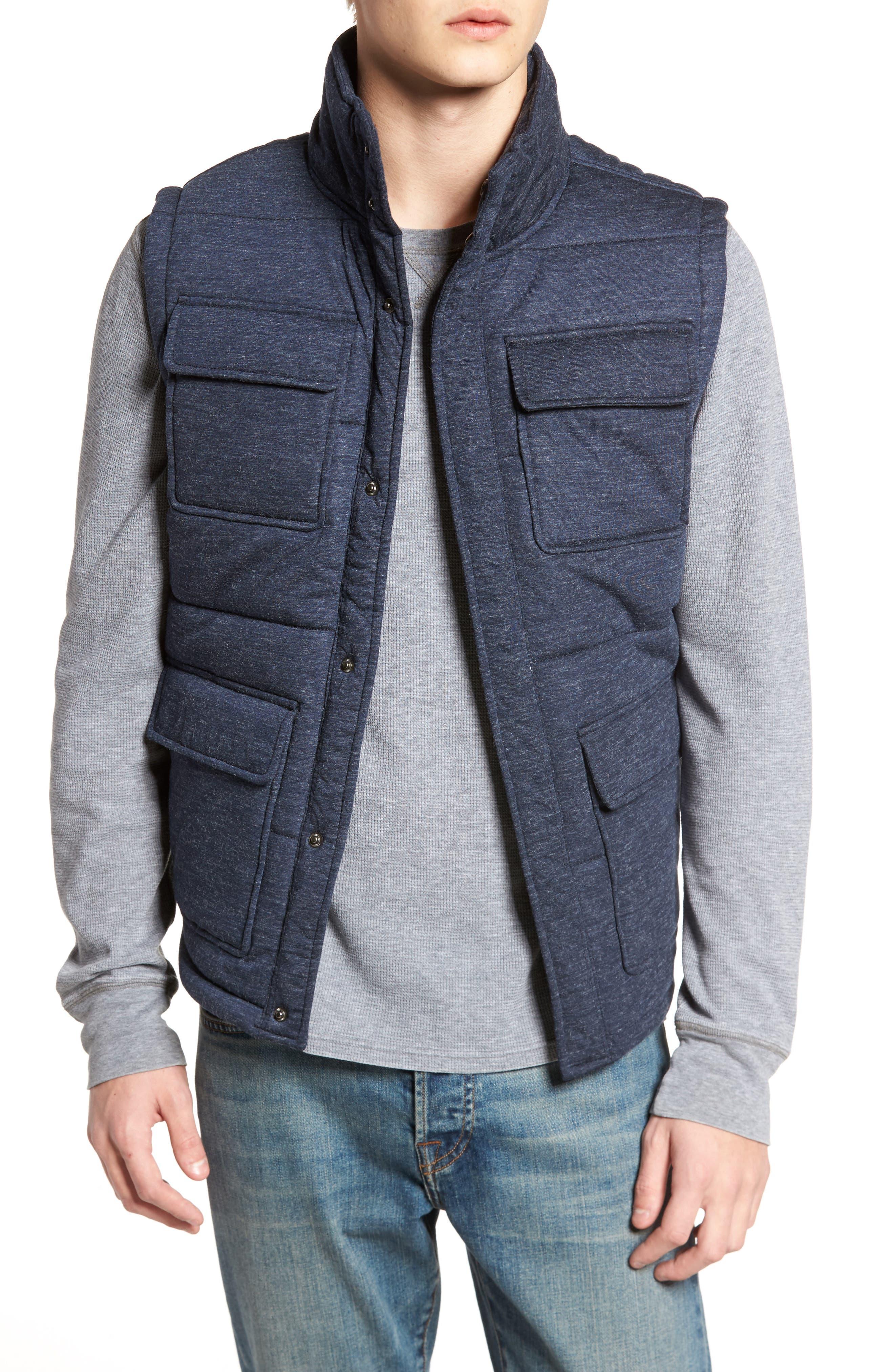 Four-Pocket Vest,                         Main,                         color, Navy