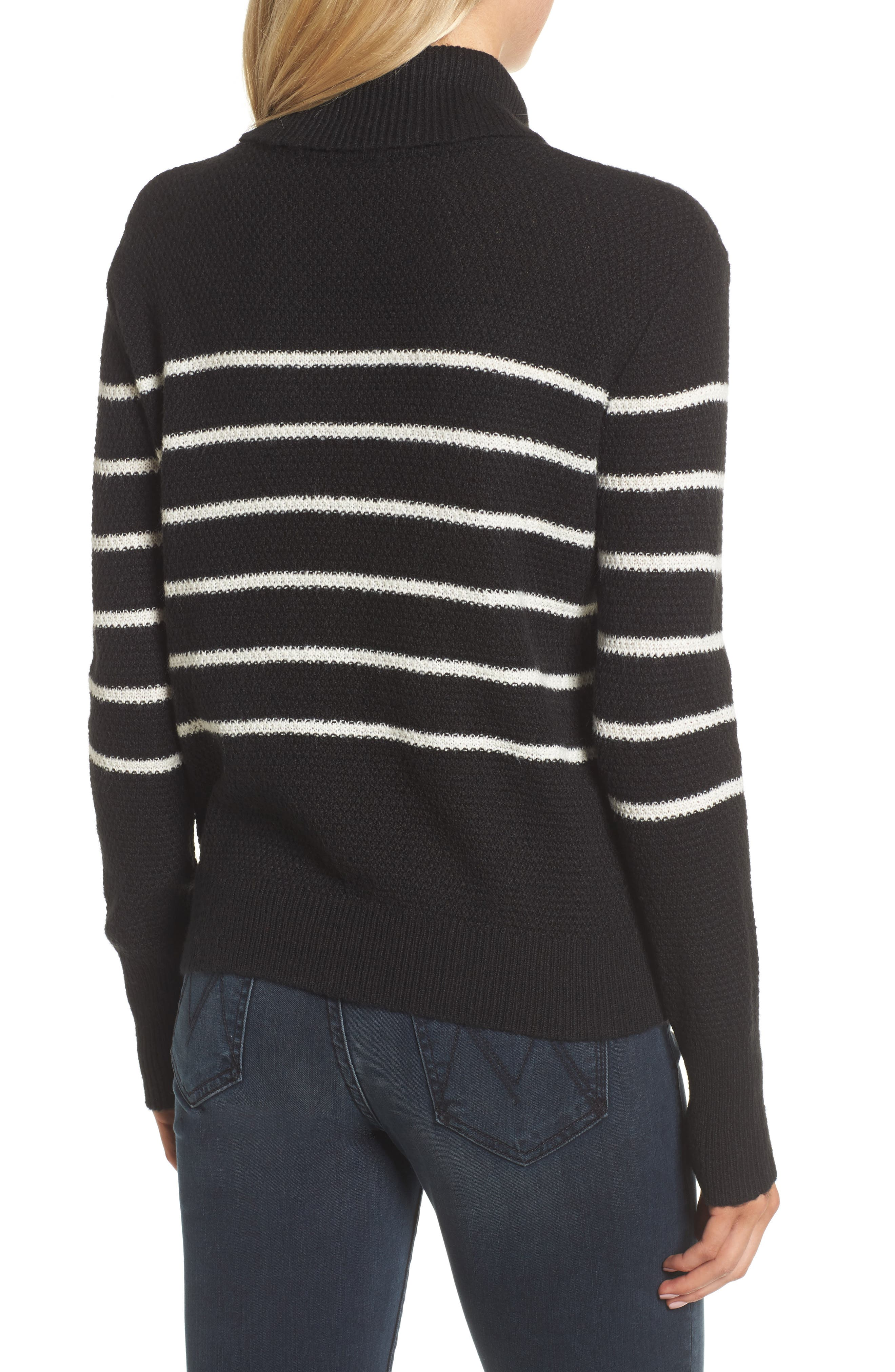 Alternate Image 2  - cupcakes and cashmere Renny Turtleneck Sweater