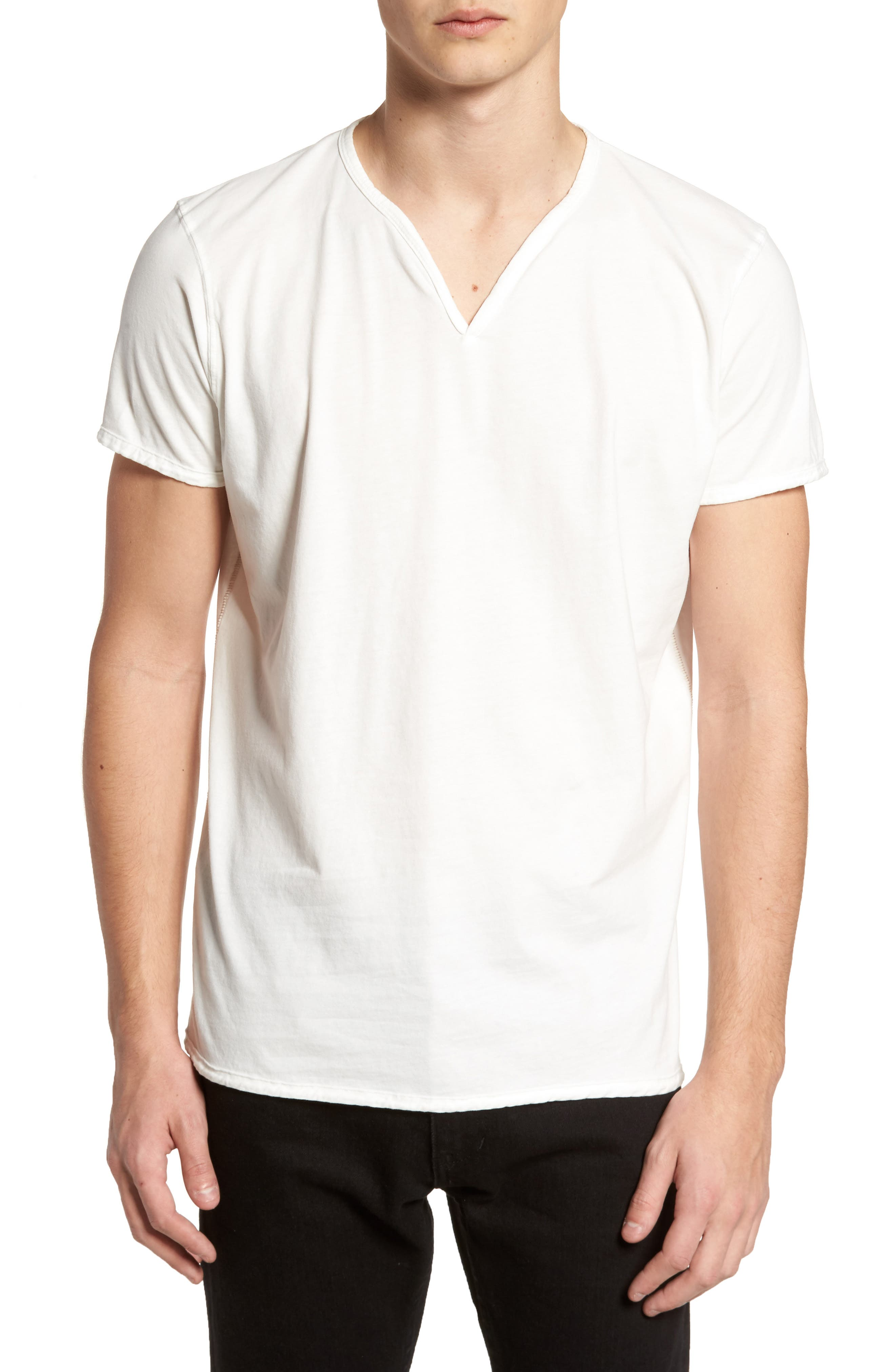 Alternate Image 1 Selected - Vestige Notch Henley T-Shirt