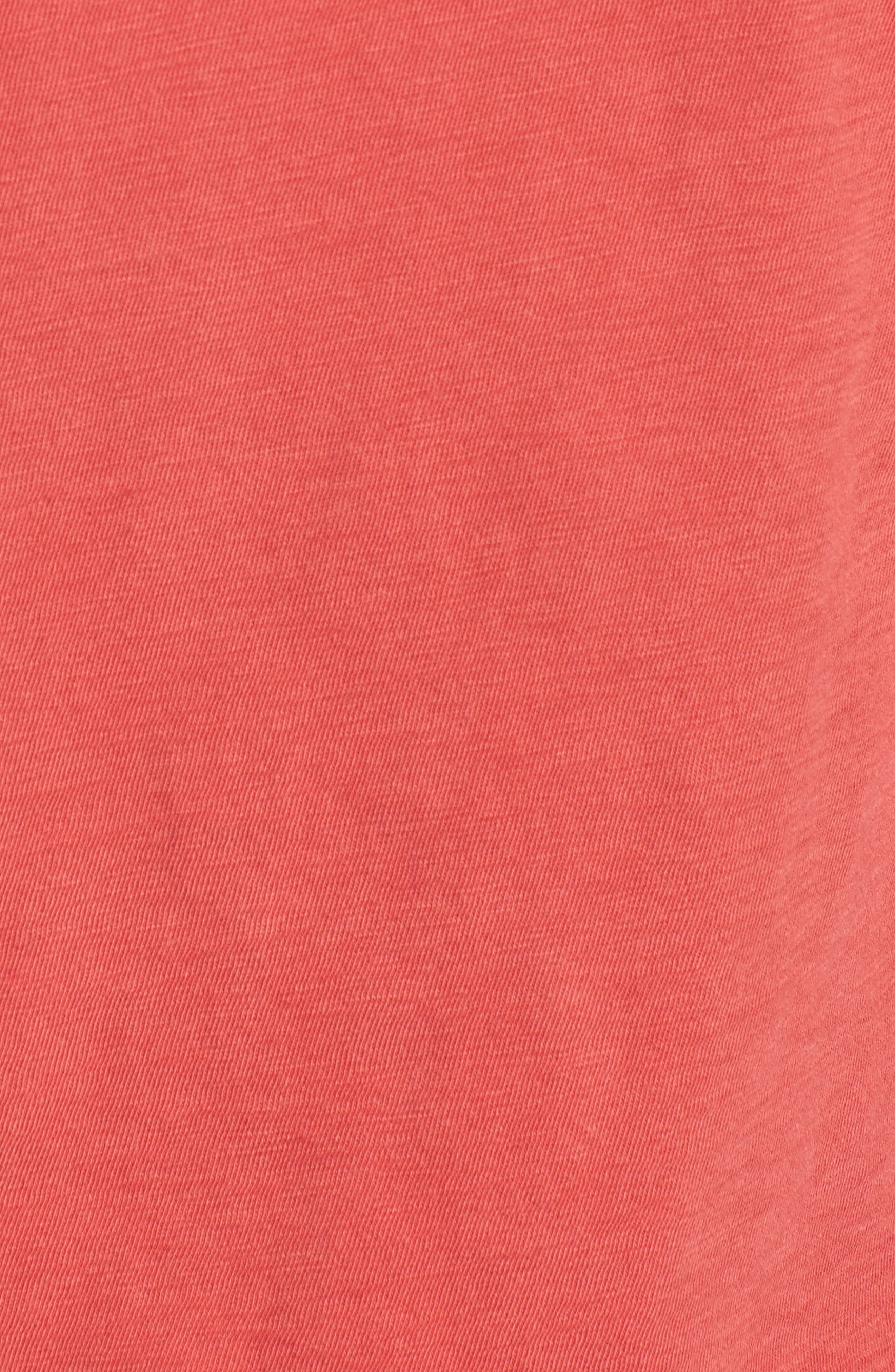 The Tee,                             Alternate thumbnail 5, color,                             Washed Red