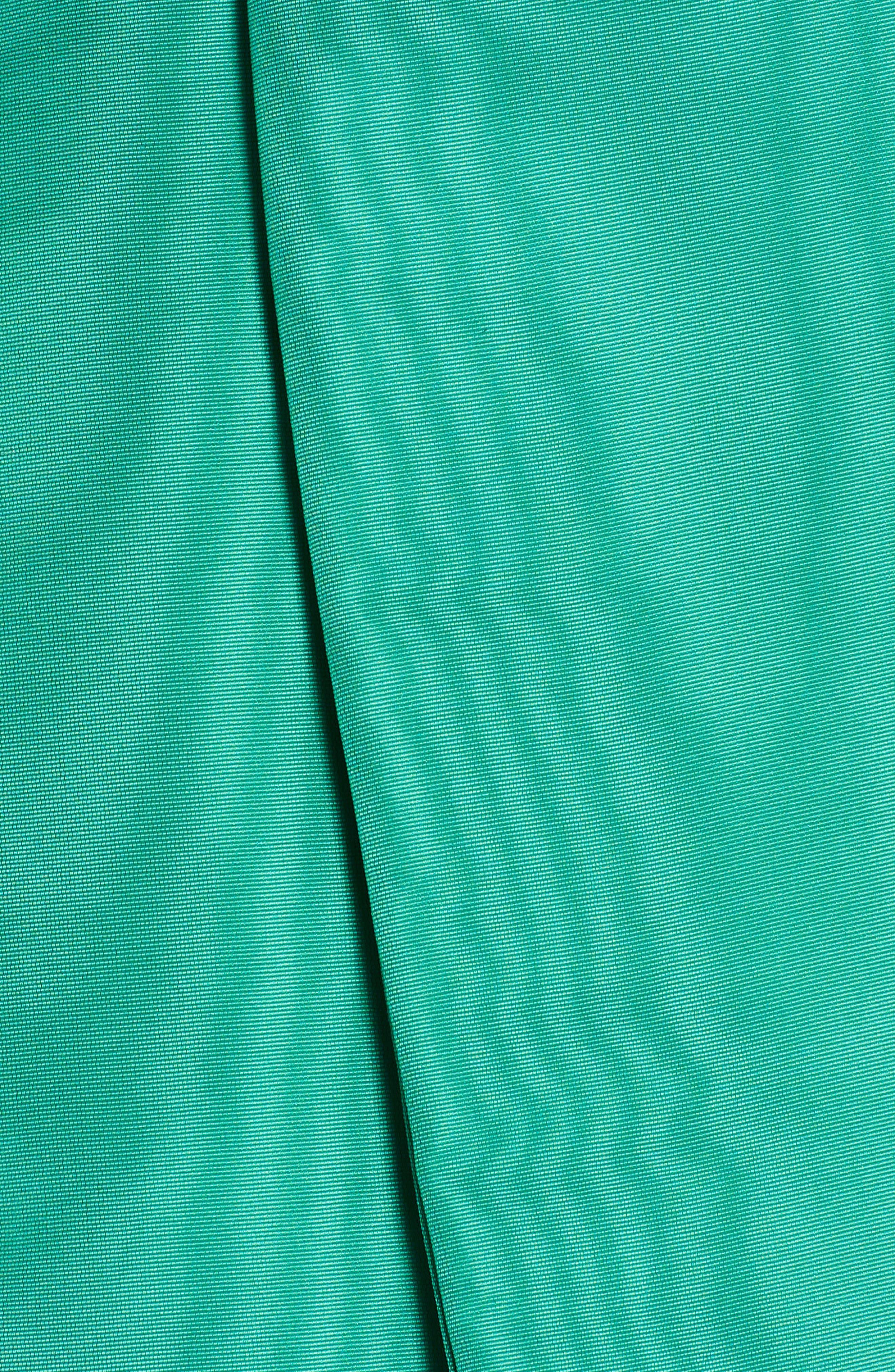 Popover Halter Dress,                             Alternate thumbnail 5, color,                             Green 36