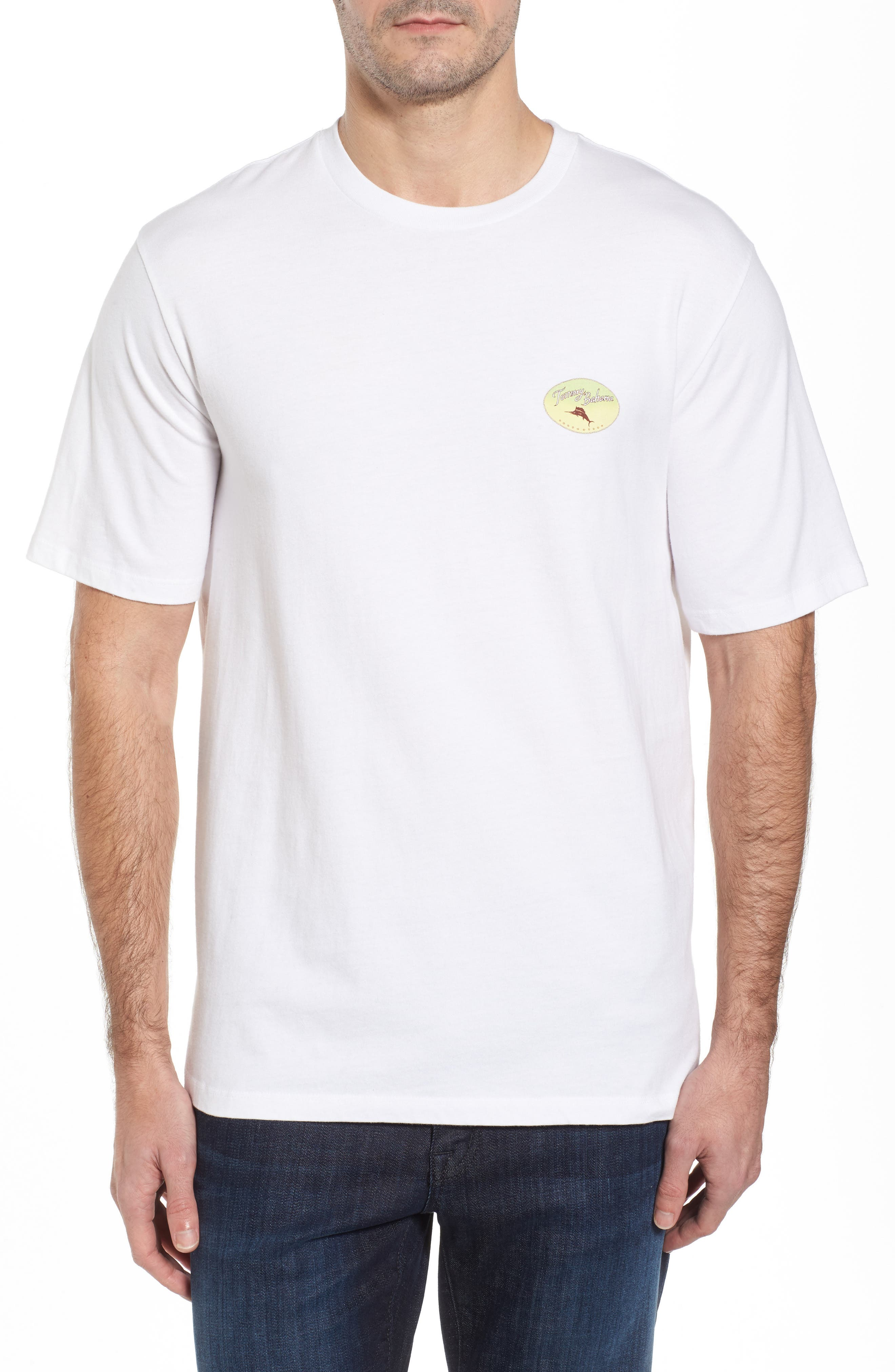 Improve Your Swing T-Shirt,                             Alternate thumbnail 2, color,                             White
