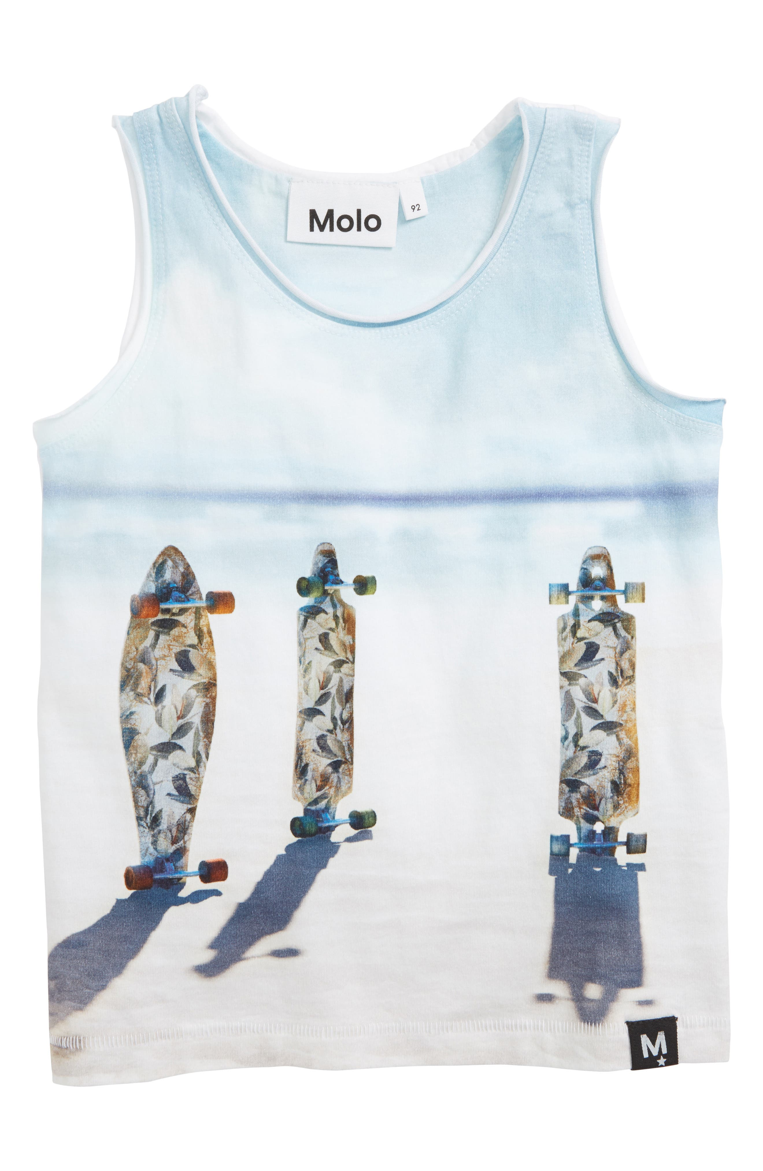 Ronoy Graphic Tank Top,                             Main thumbnail 1, color,                             Longboards
