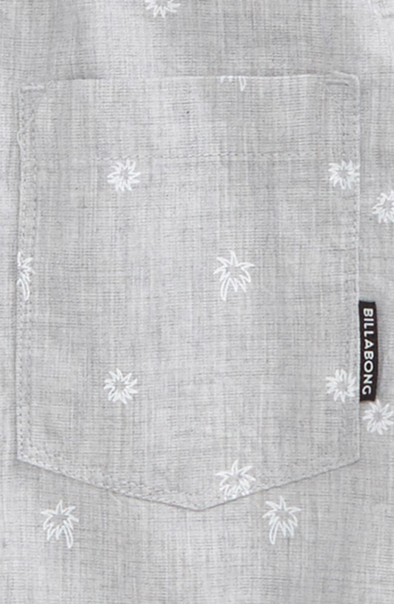 Alternate Image 2  - Billabong Sundays Mini Woven Shirt (Toddler Boys & Little Boys)