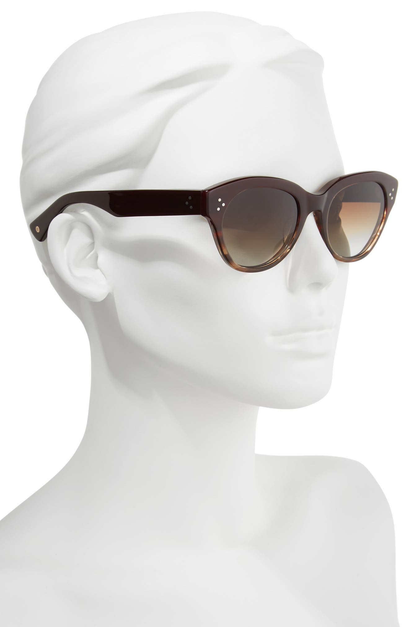 Alternate Image 2  - Salt 53mm Cat Eye Polarized Sunglasses