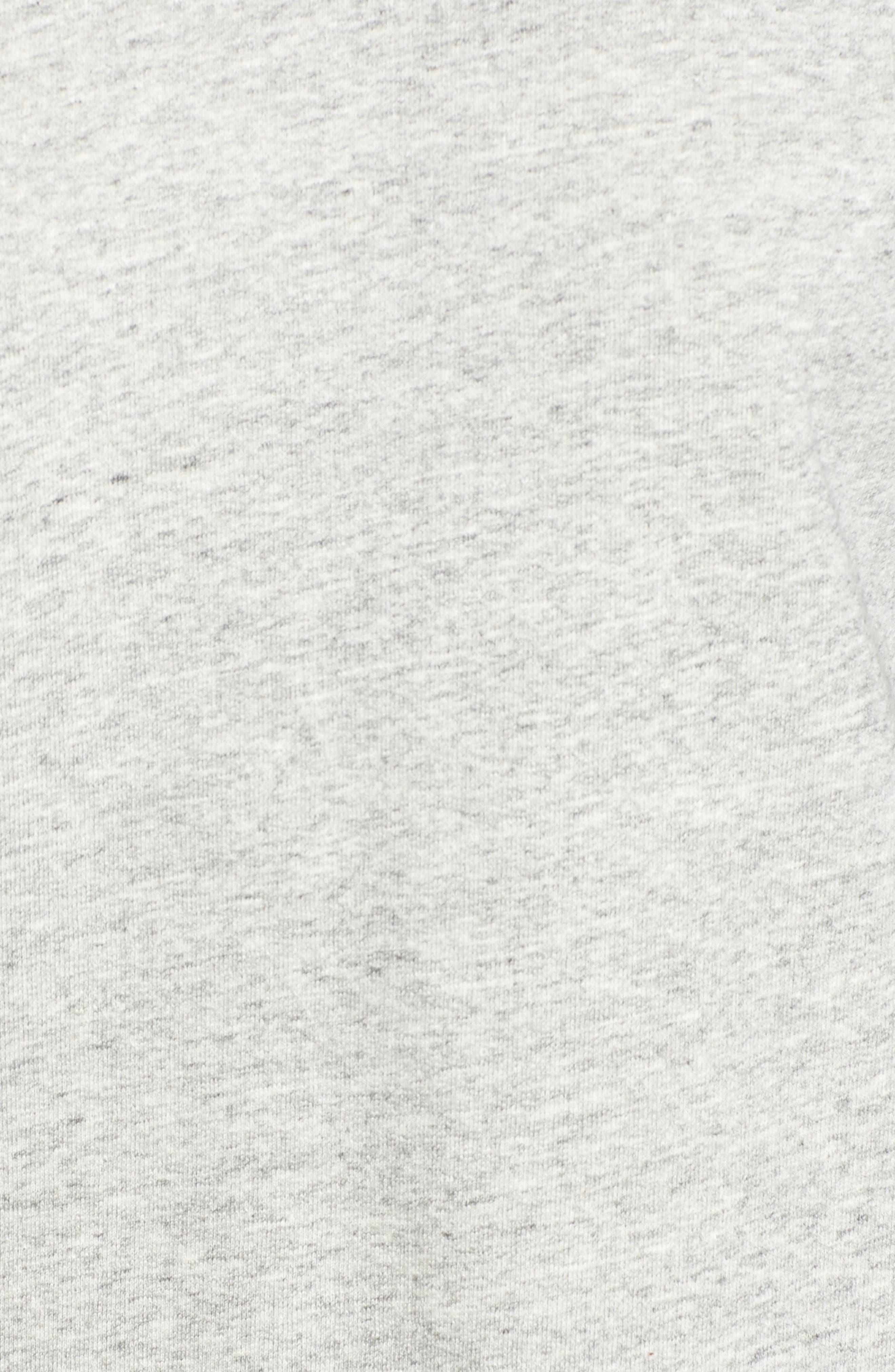 Alternate Image 5  - AG Gizi Cold Shoulder Sweatshirt